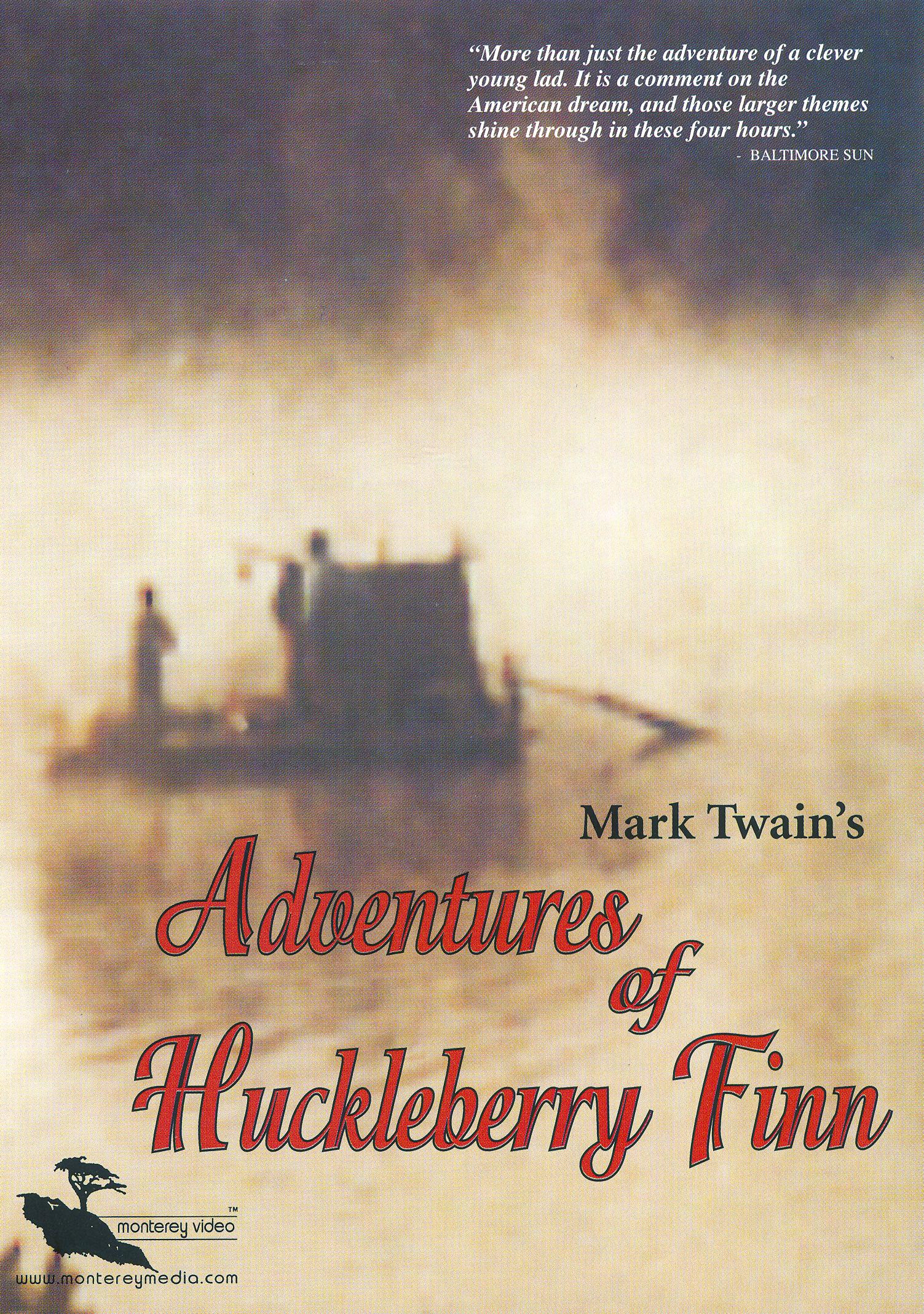american dream of huckleberry