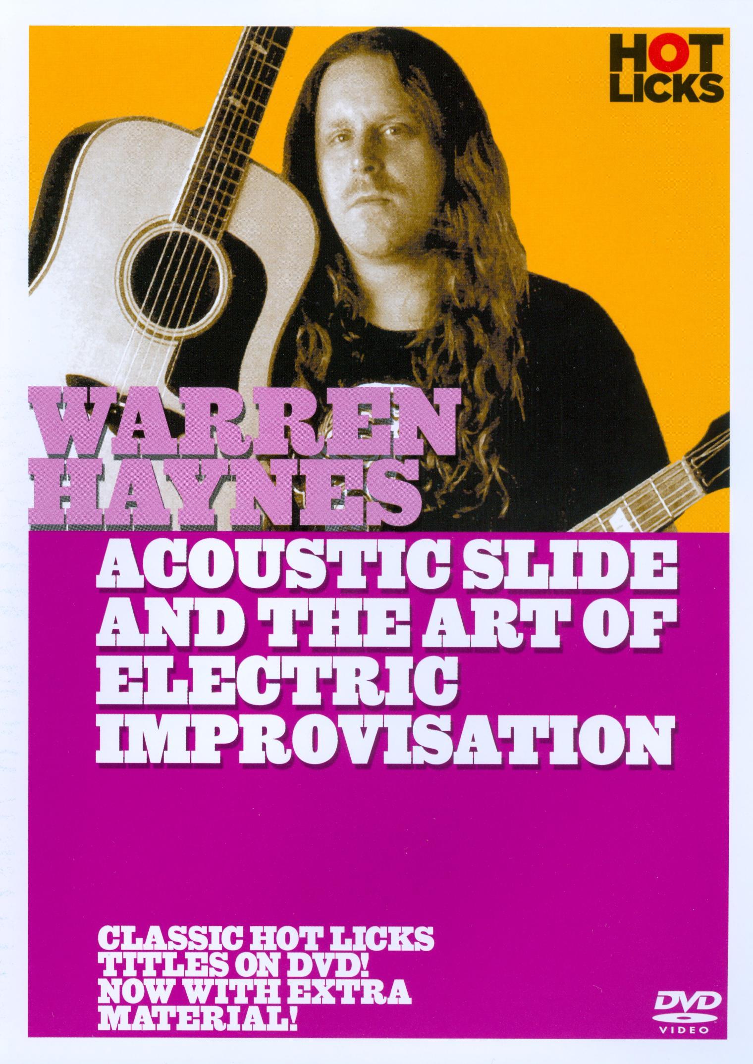 Warren Haynes 2: Acoustic Slide and the art of Electric Improvisation