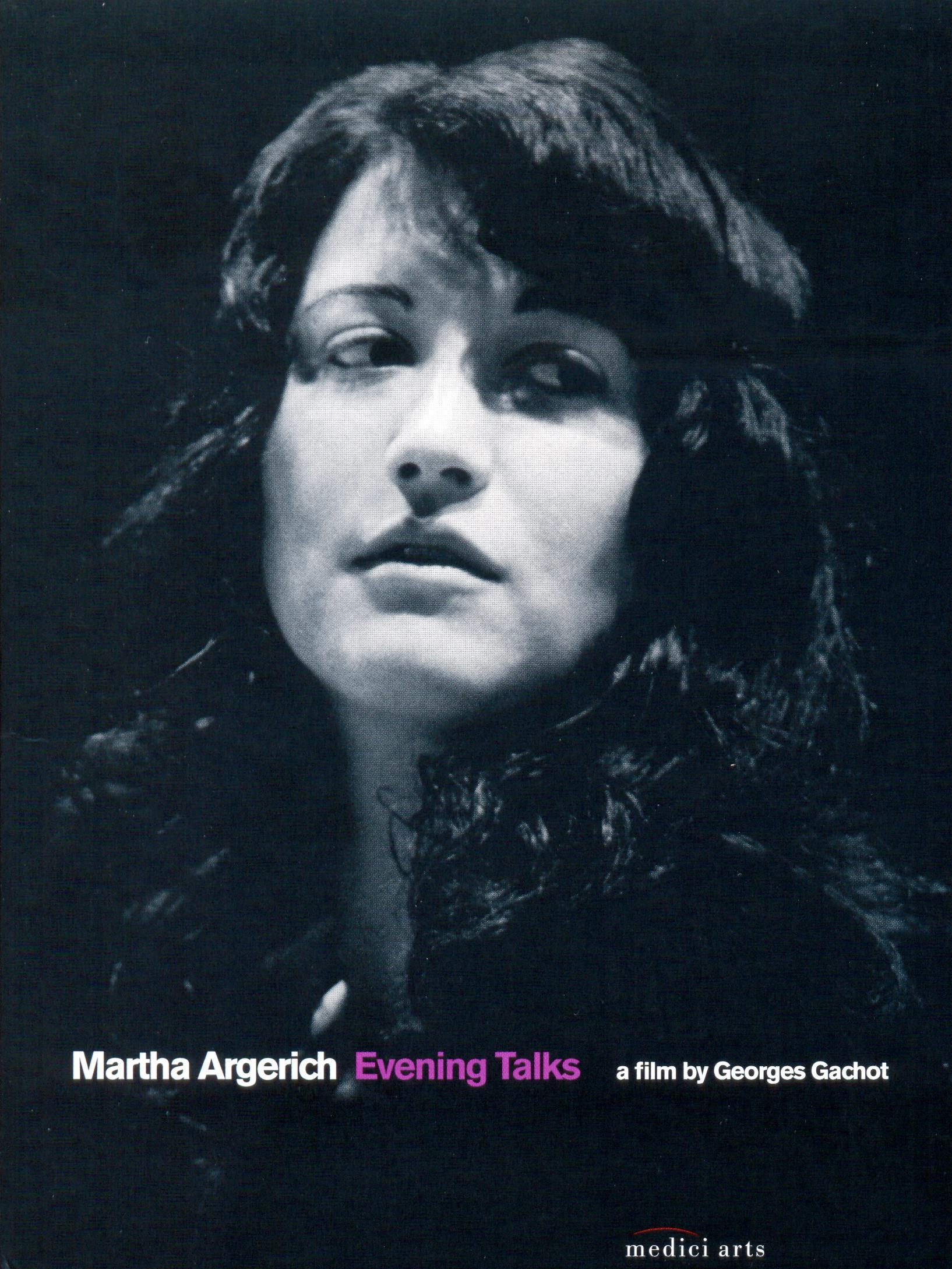Martha Argerich, Evening Talks