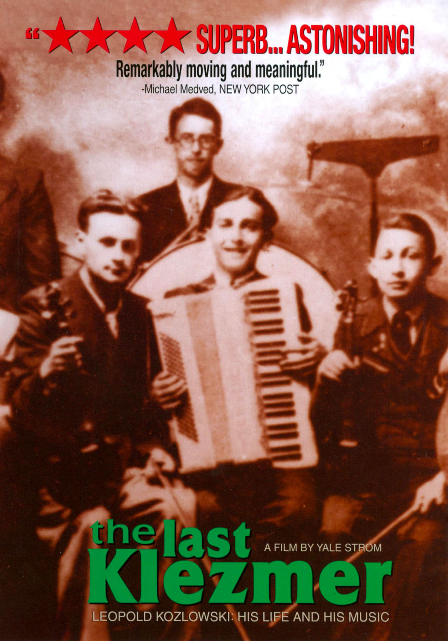The Last Klezmer: Leopold Kozlowski - His Life and Music
