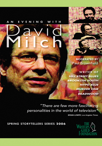 An Evening With David Milch