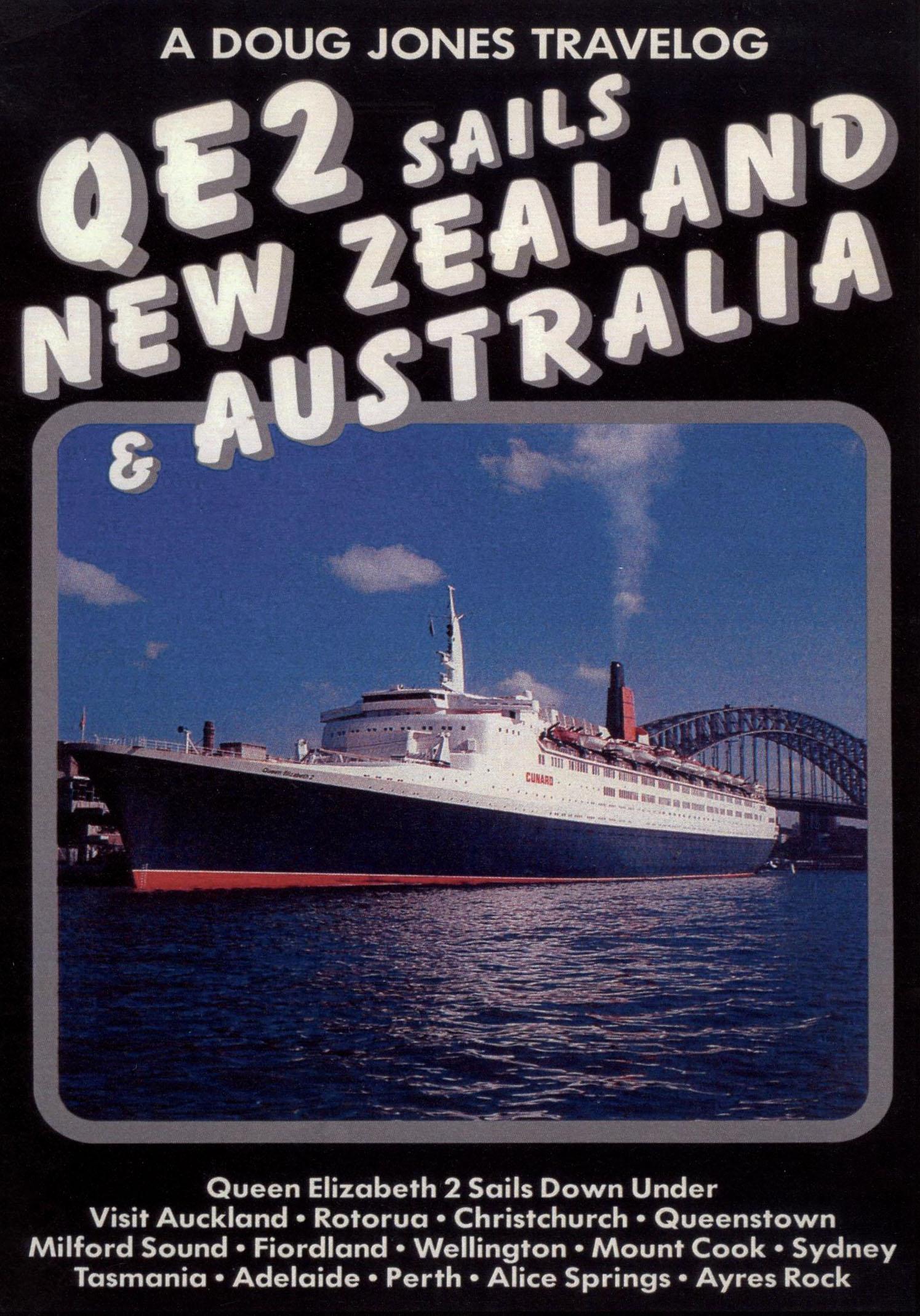 QE2 Sails New Zealand & Australia