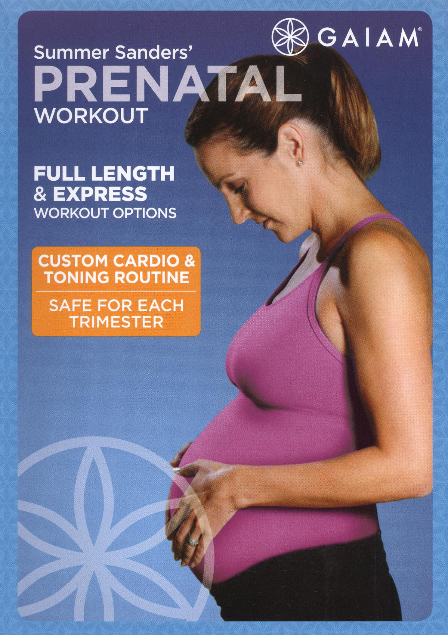 Summer Sanders' Prenatal Workout