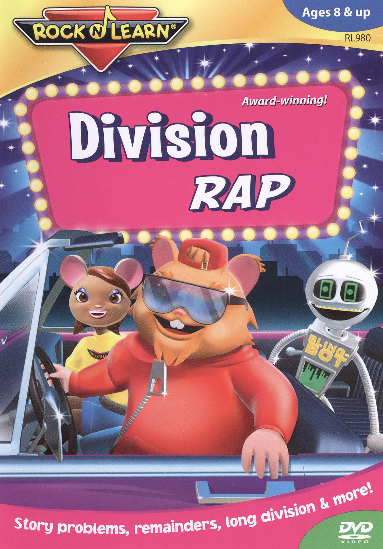 Rock 'N Learn: Division Rap