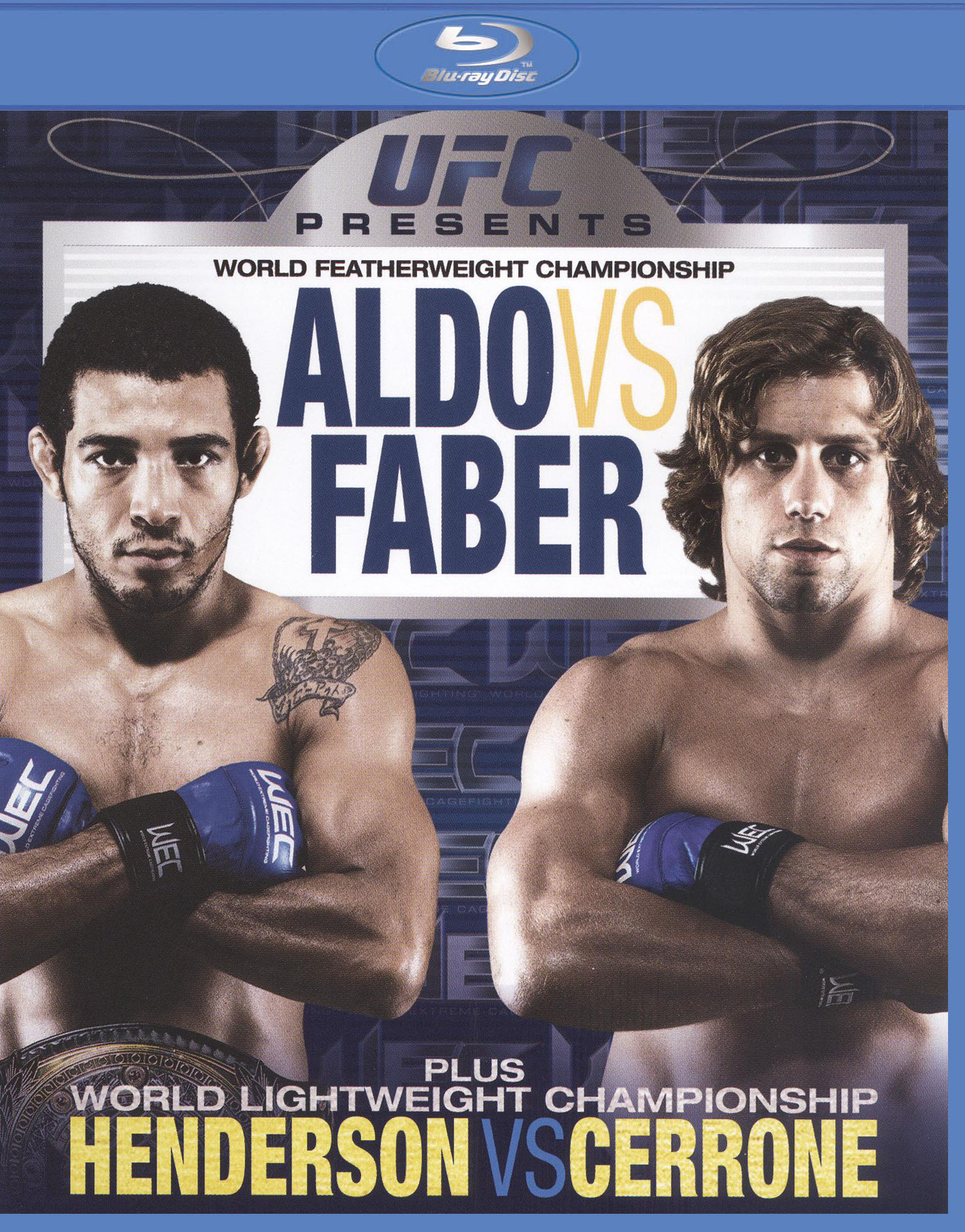UFC Presents World Featherweight Championship: Aldo vs. Faber
