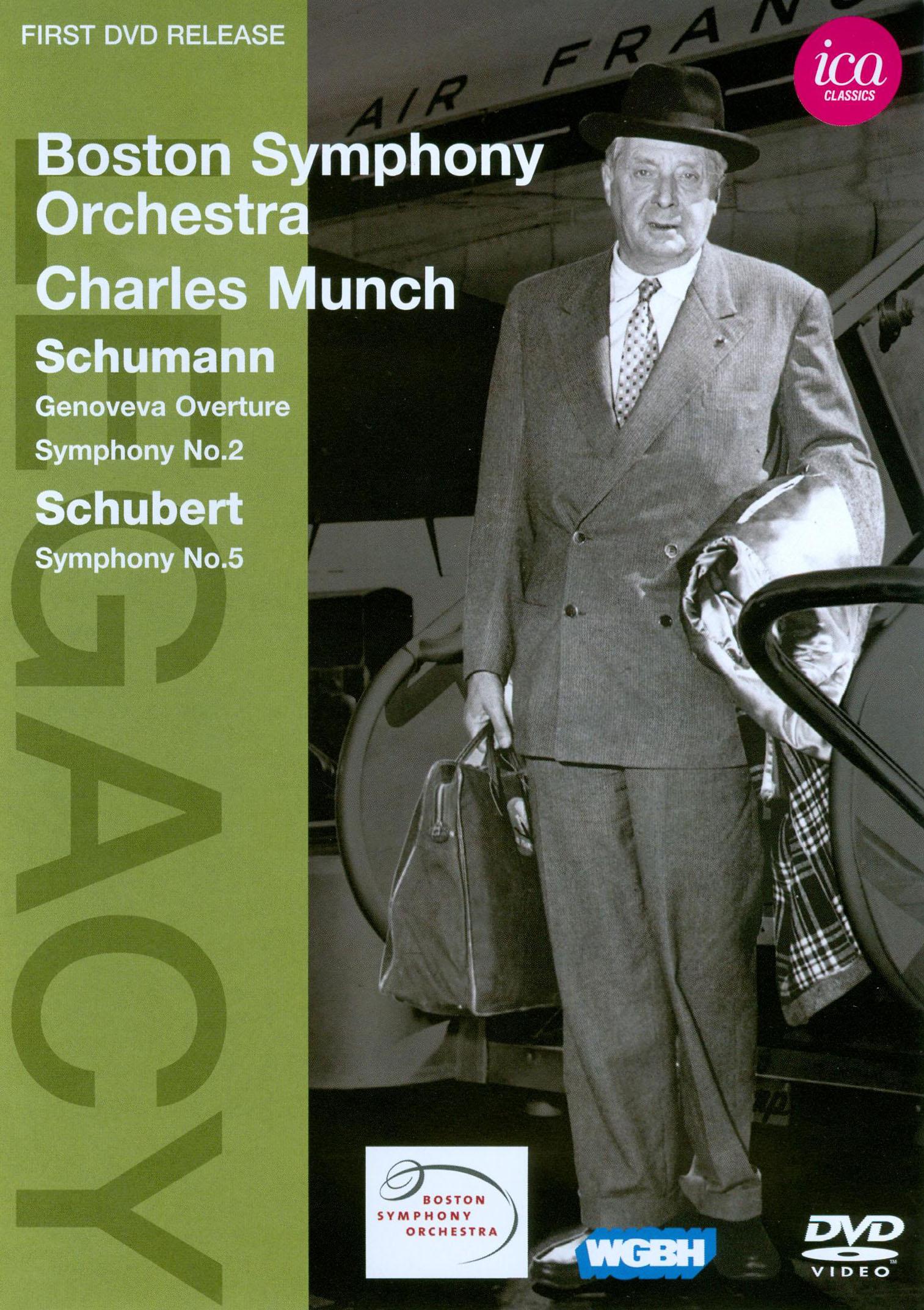 Boston Symphony Orchestra/Charles Munch: Schumann/Schubert