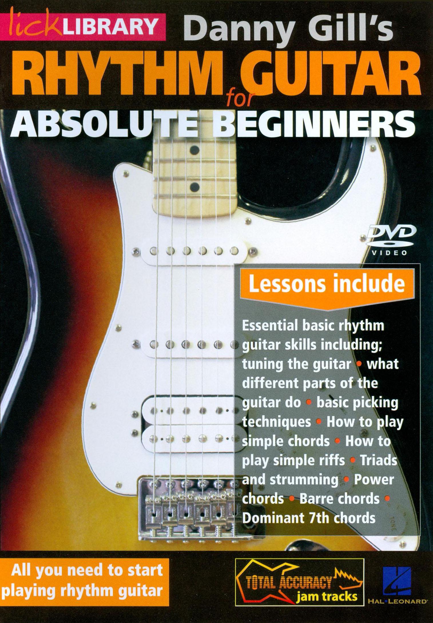 Danny Gill: Rhythm Guitar for Absolute Beginners