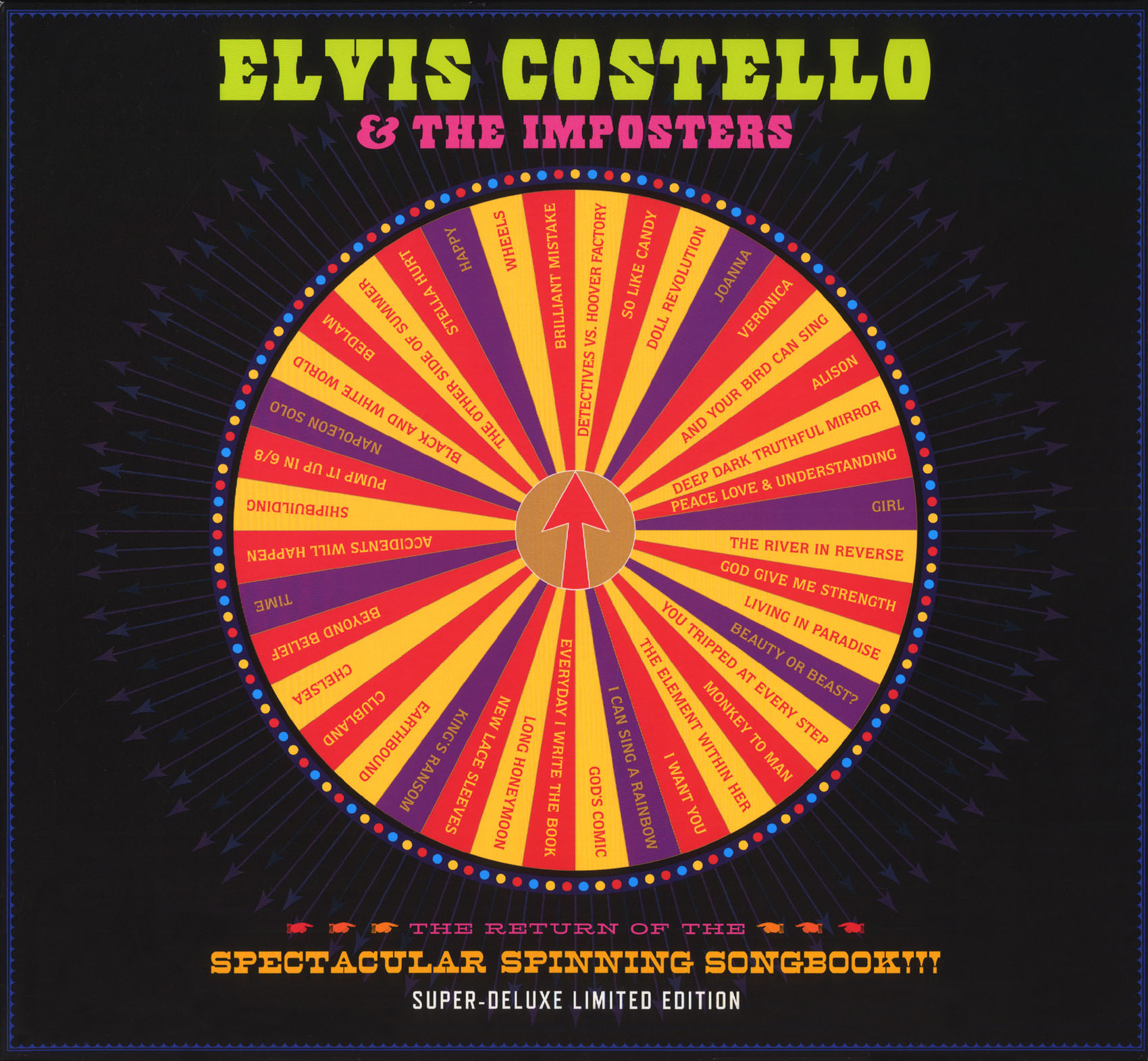 Elvis Costello & the Imposters: The Revolver Tour - The Return of the Spectacular Spinning Songbook!!