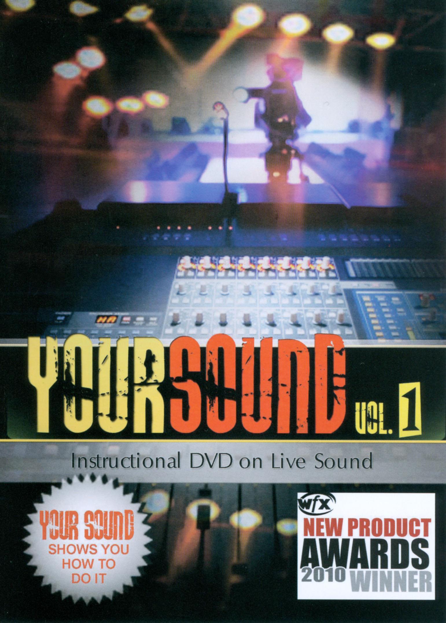 Your Sound, Vol. 1: Instructional DVD on Live Sound