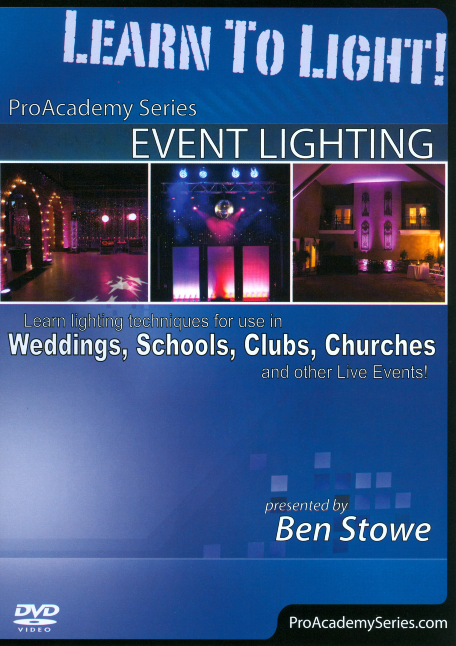 ProAcademy Series: Event Lighting