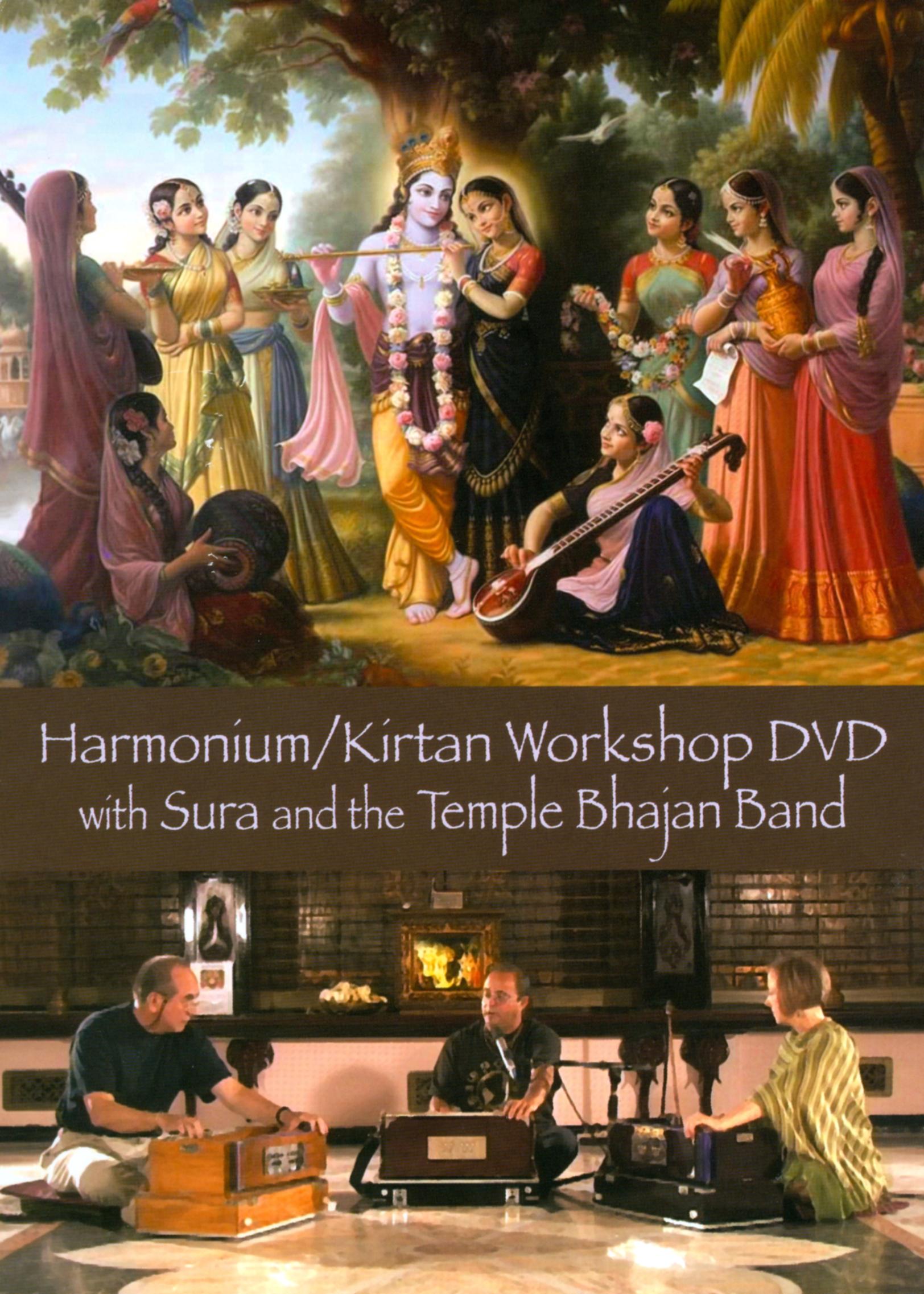Harmonium/Kirtan Workshop DVD with Sura and the Temple Bhajan Band