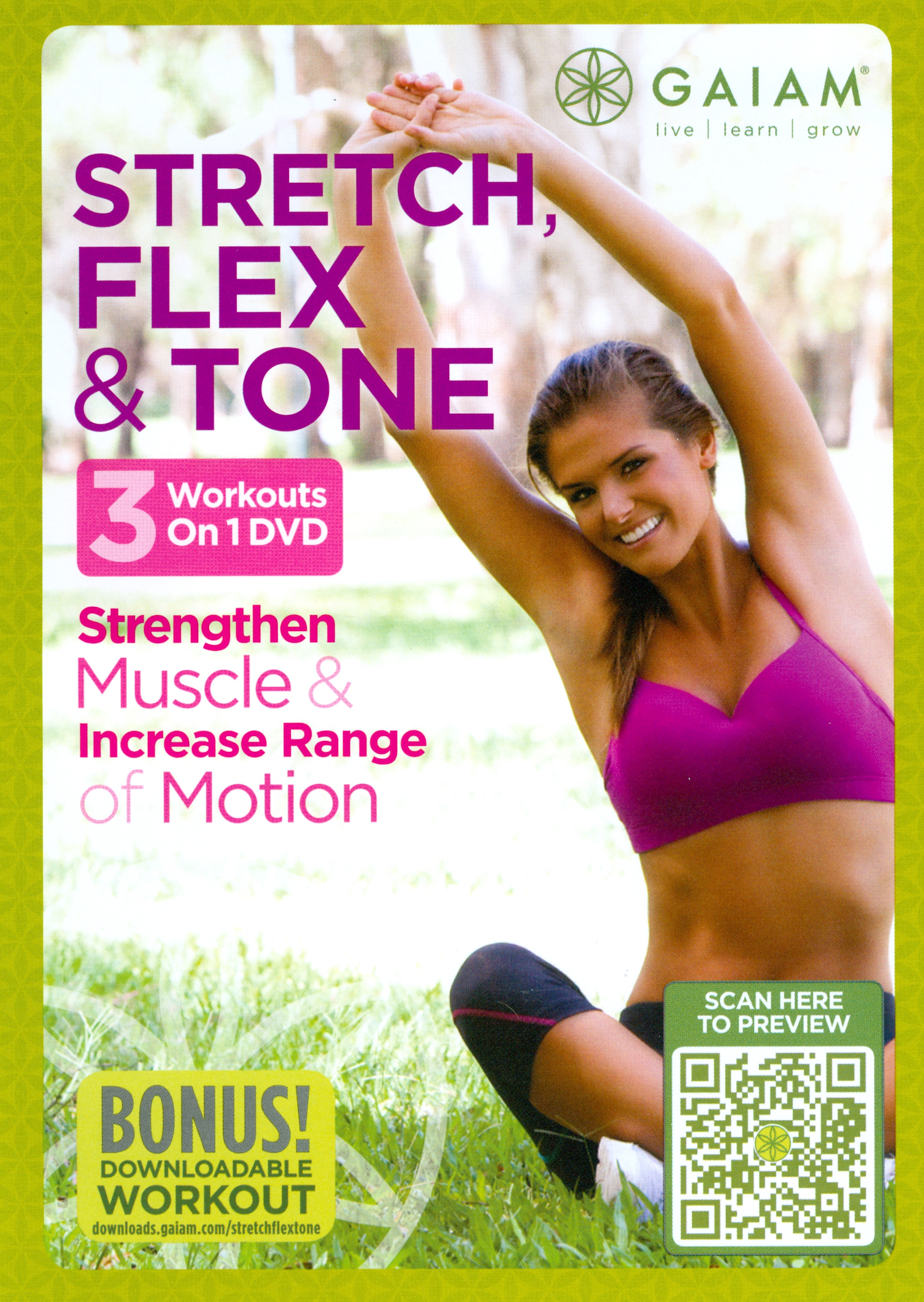 Stretch, Flex & Tone