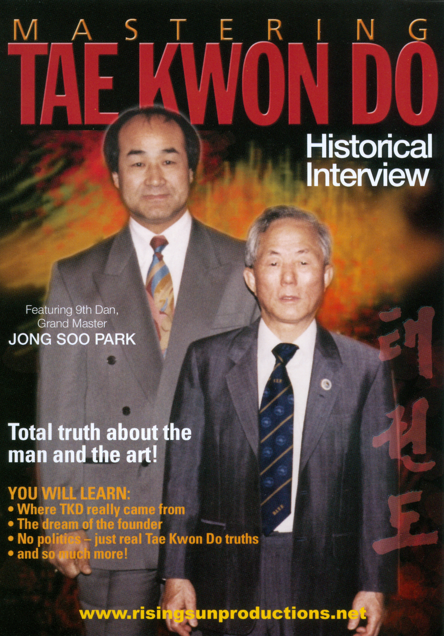 Mastering Tae Kwon Do: Historical Interview