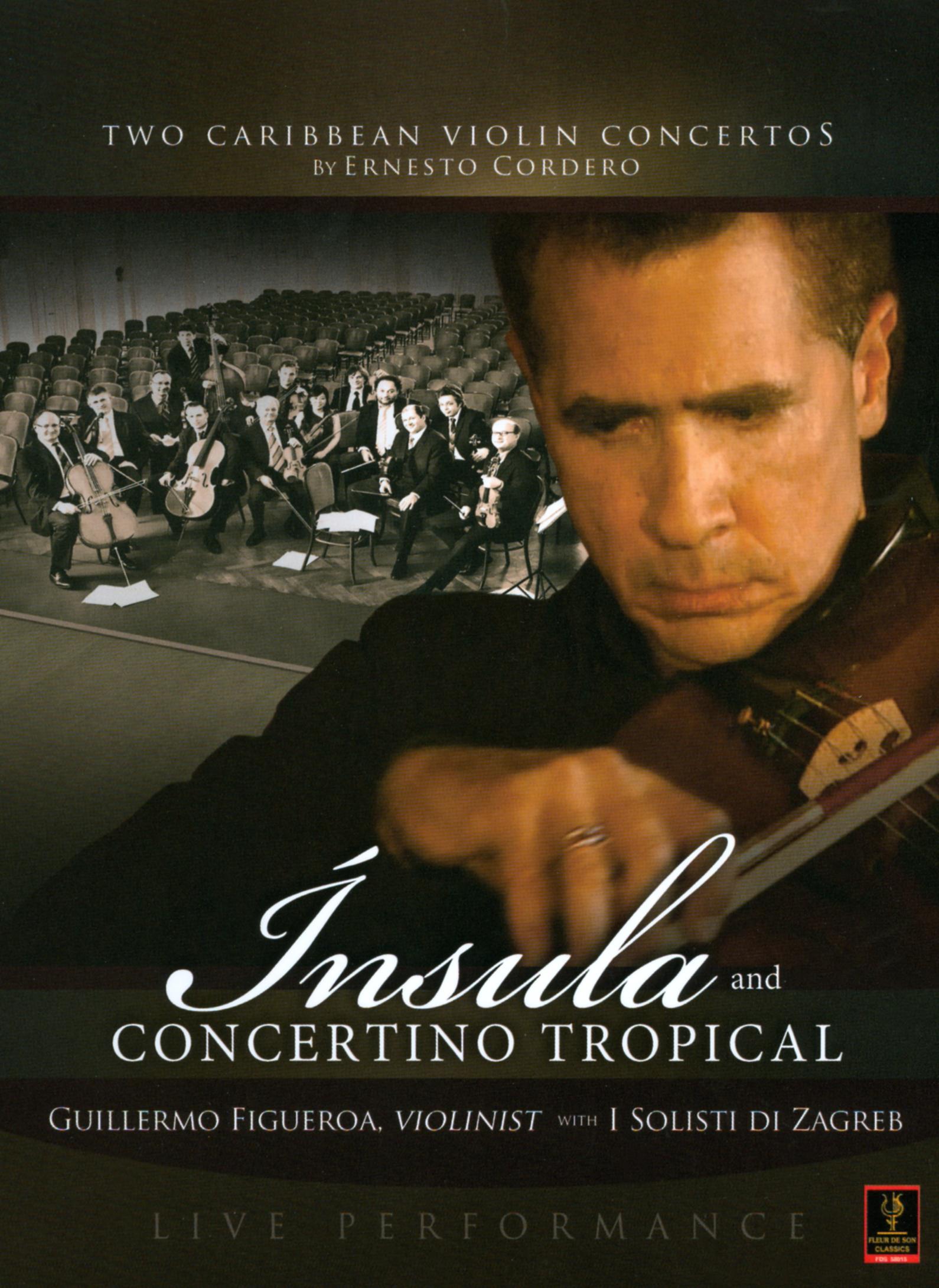 Guillermo Figueroa with I Solisti di Zagreb: Insula and Concertino Tropical