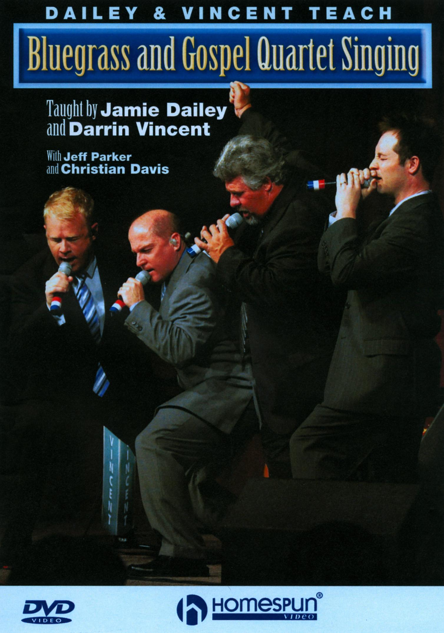 Dailey & Vincent Teach Bluegrass and Gospel Quartet Singing
