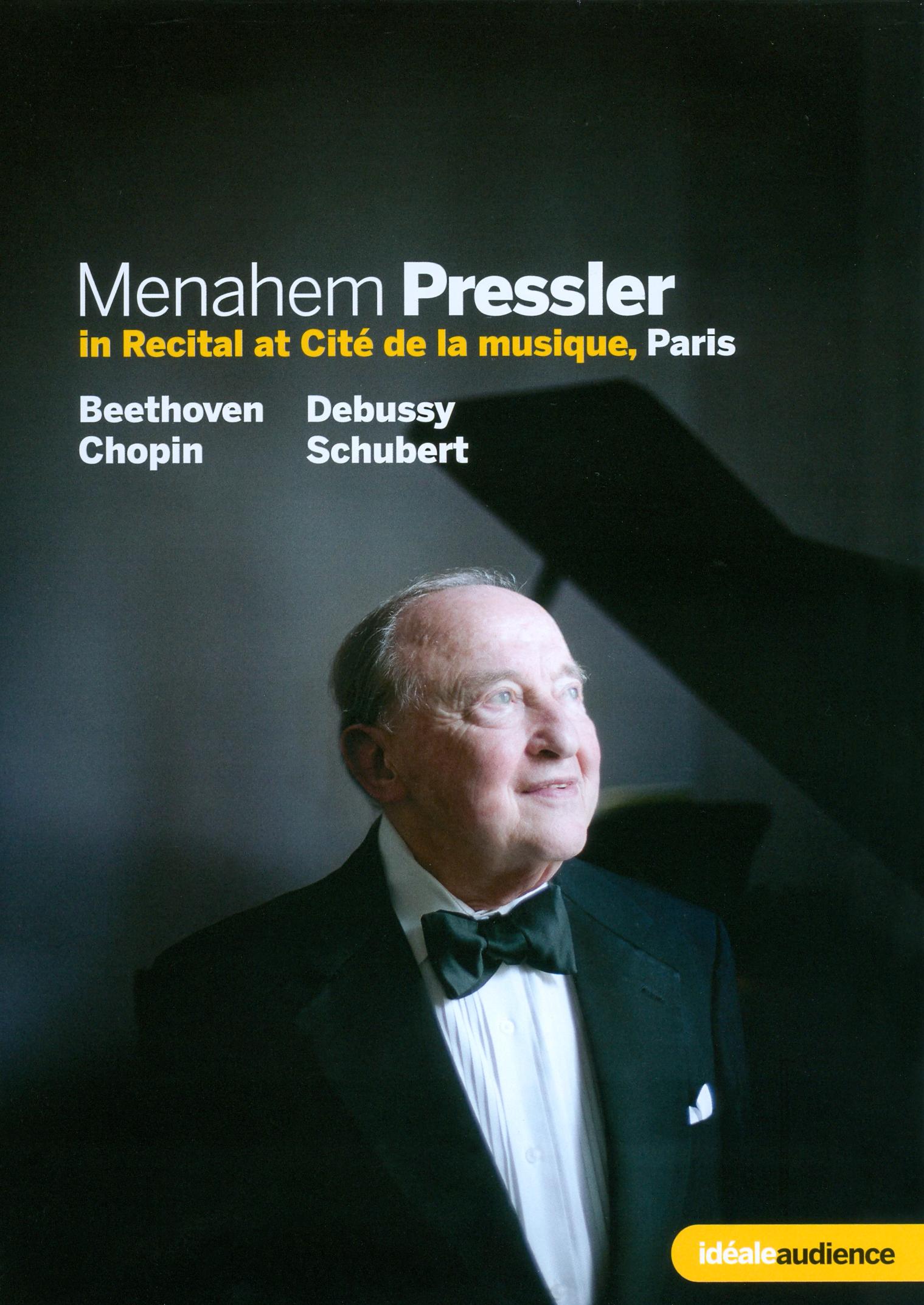 Menahem Pressler: In Recital at Cité de la Musique, Paris