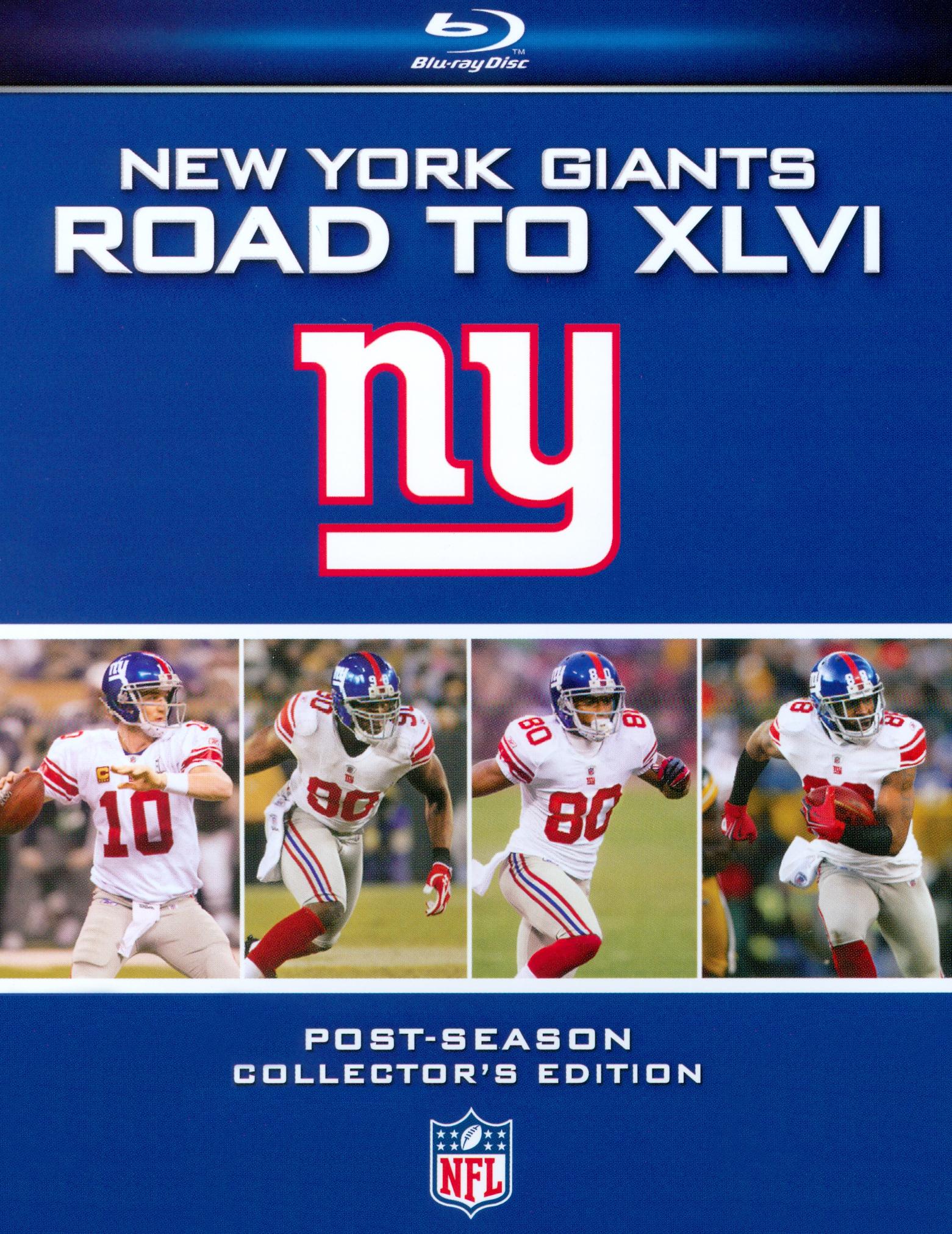 NFL: New York Giants - Road to XLVI