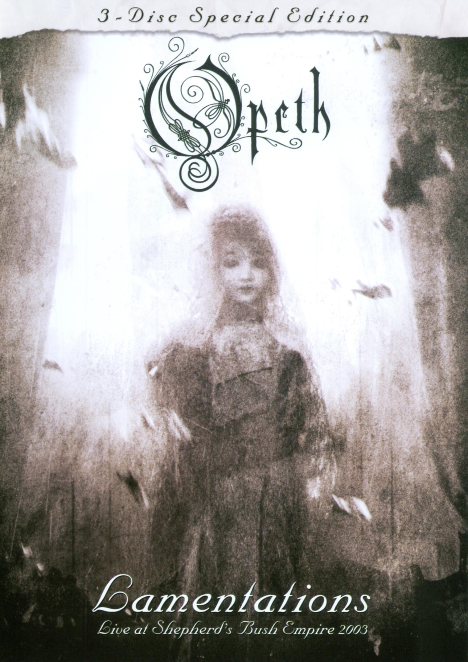 Opeth: Lamentations - Live at Shepherd's Bush Empire