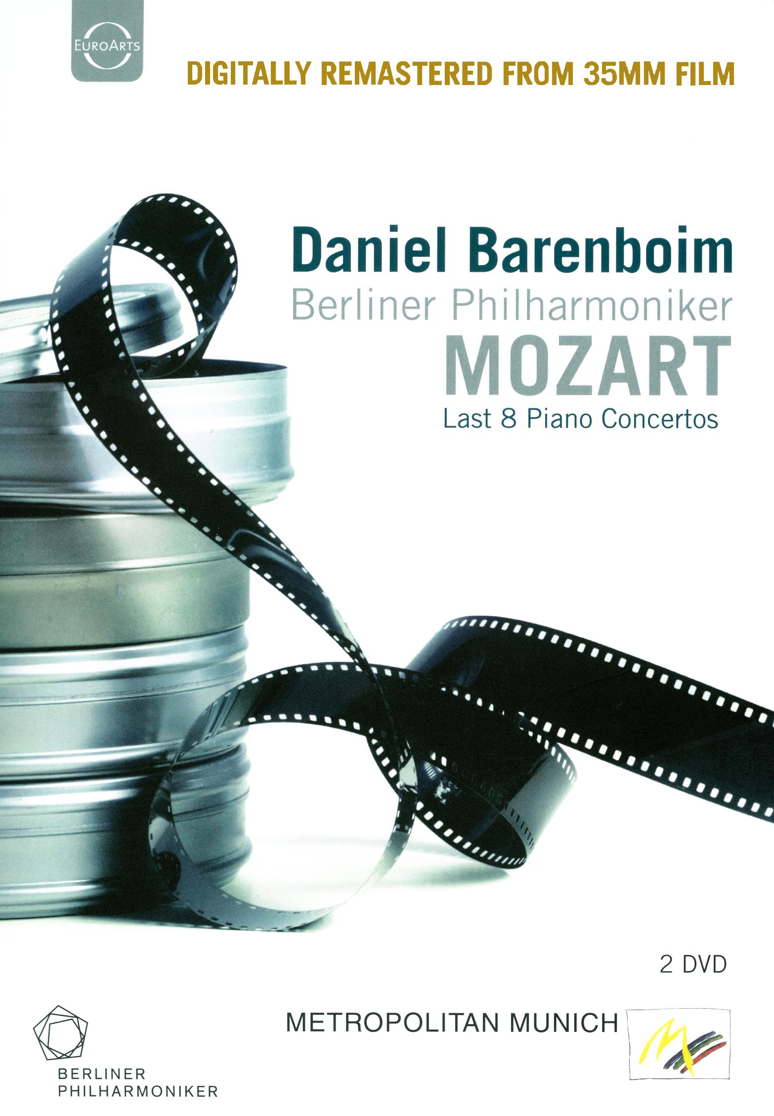 Daniel Barenboim/Berliner Philharmoniker: Mozart - Last 8 Piano Concertos