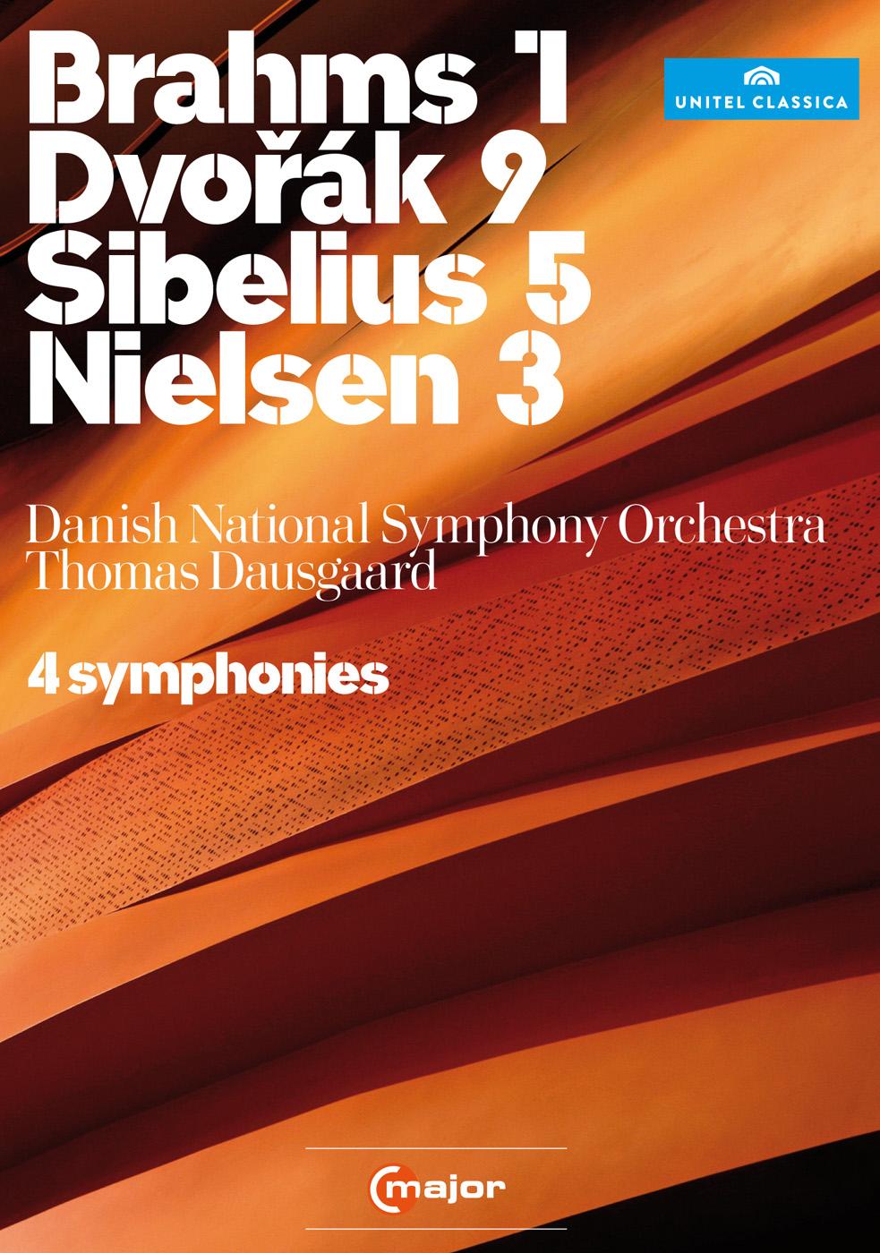 Thomas Dausgaard: Brahms, Dvorak, Sibelius, Nielsen - 4 Symphonies