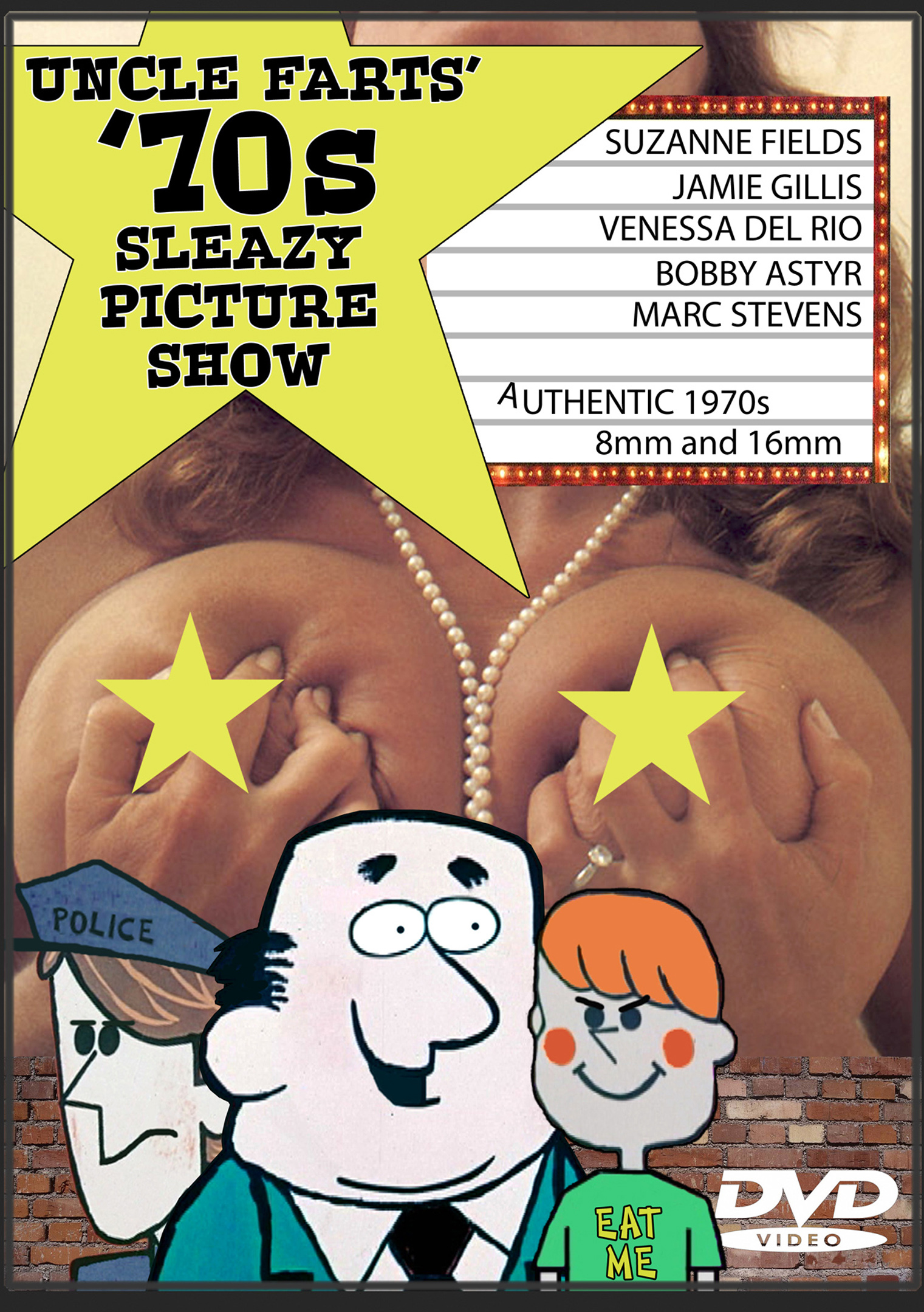 Uncle Farts' '70s Sleazy Picture Show
