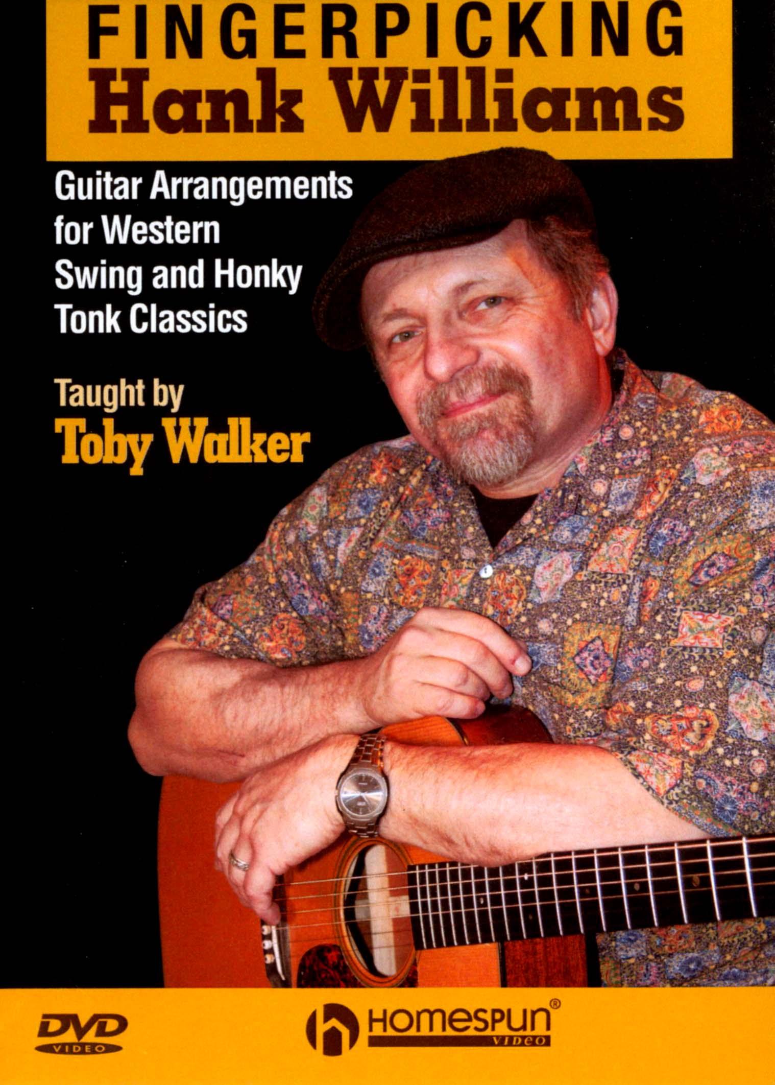 Toby Walker: Fingerpicking Hank Williams