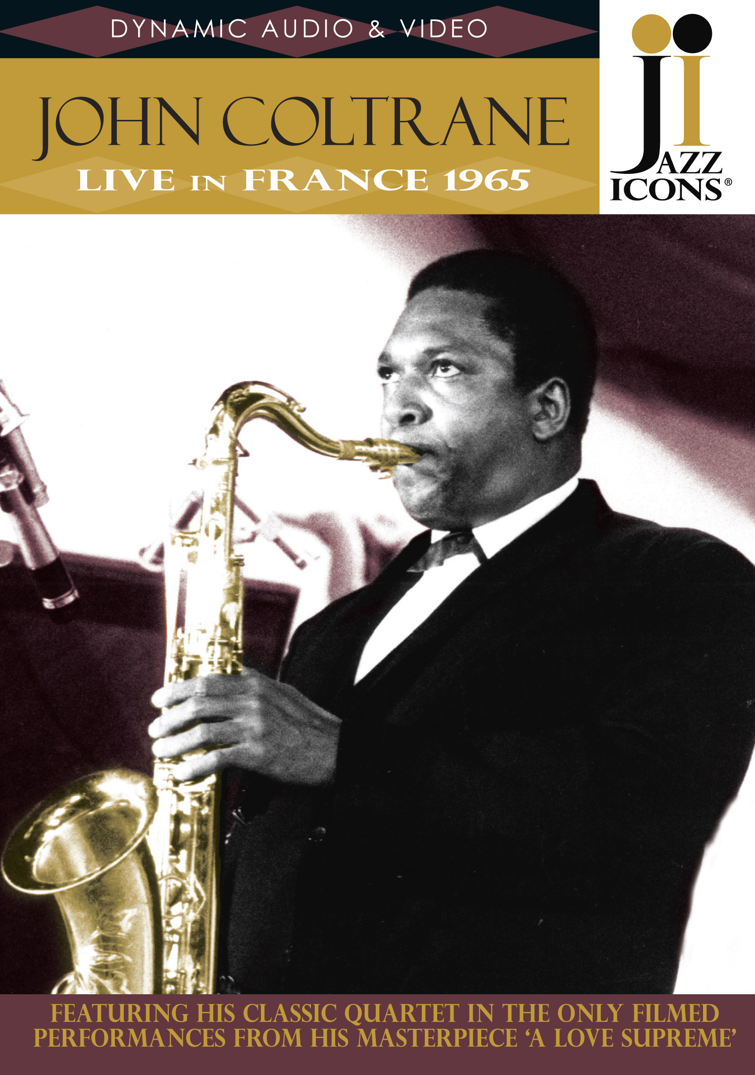 Jazz Icons: John Coltrane - Live in France 1965