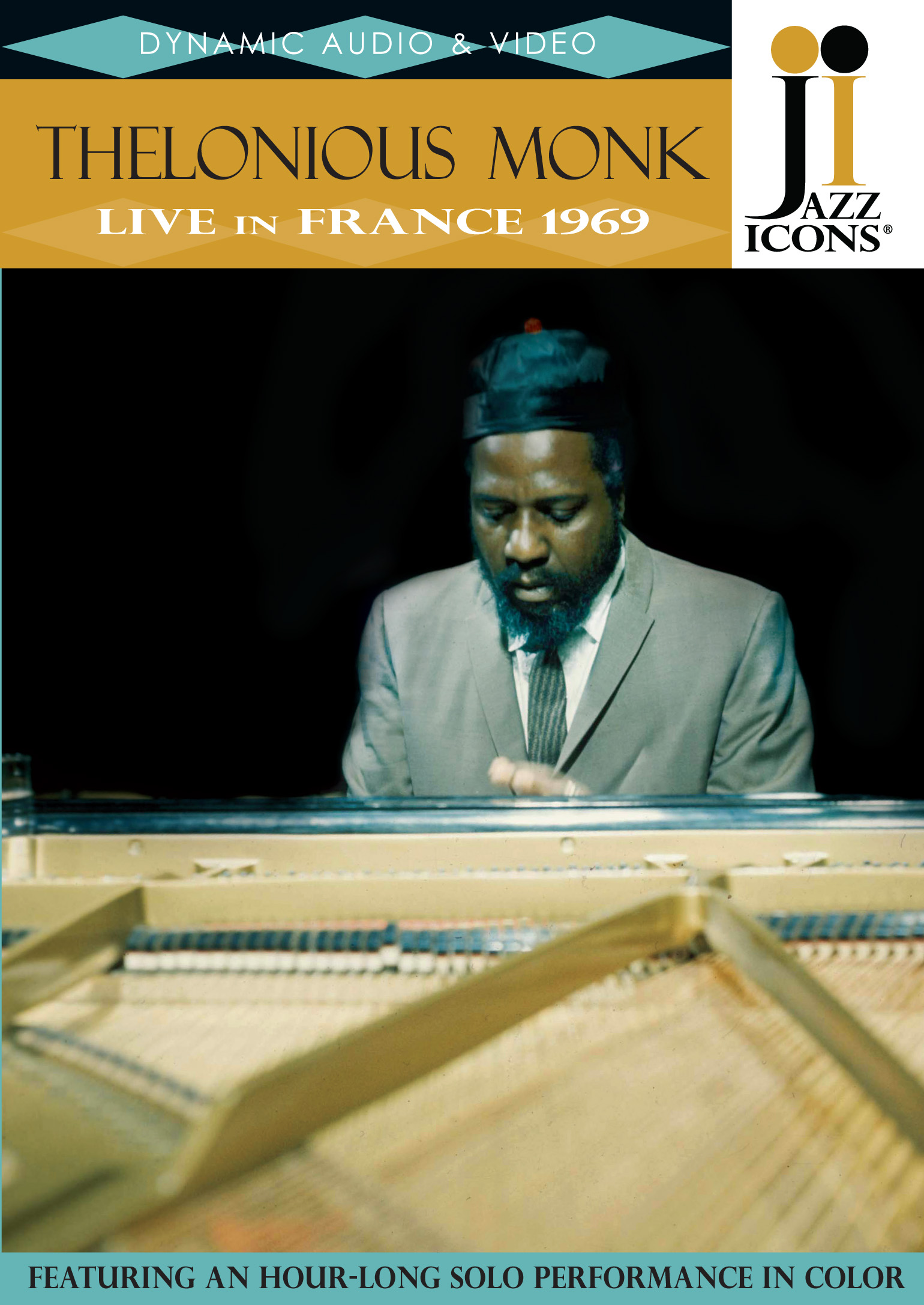 Jazz Icons: Thelonius Monk - Live in France 1969