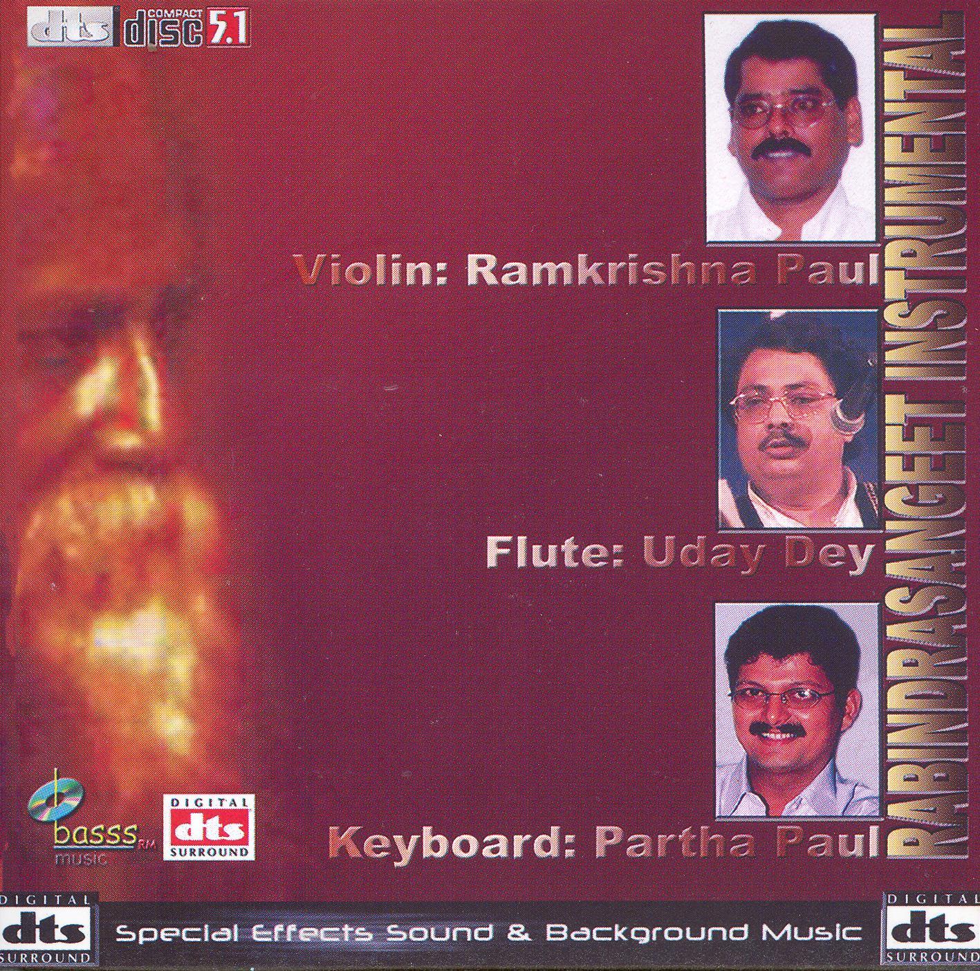 Ramkrishna Paul/Uday Dey/Partha Paul: Rabindrasangeet Instrumental
