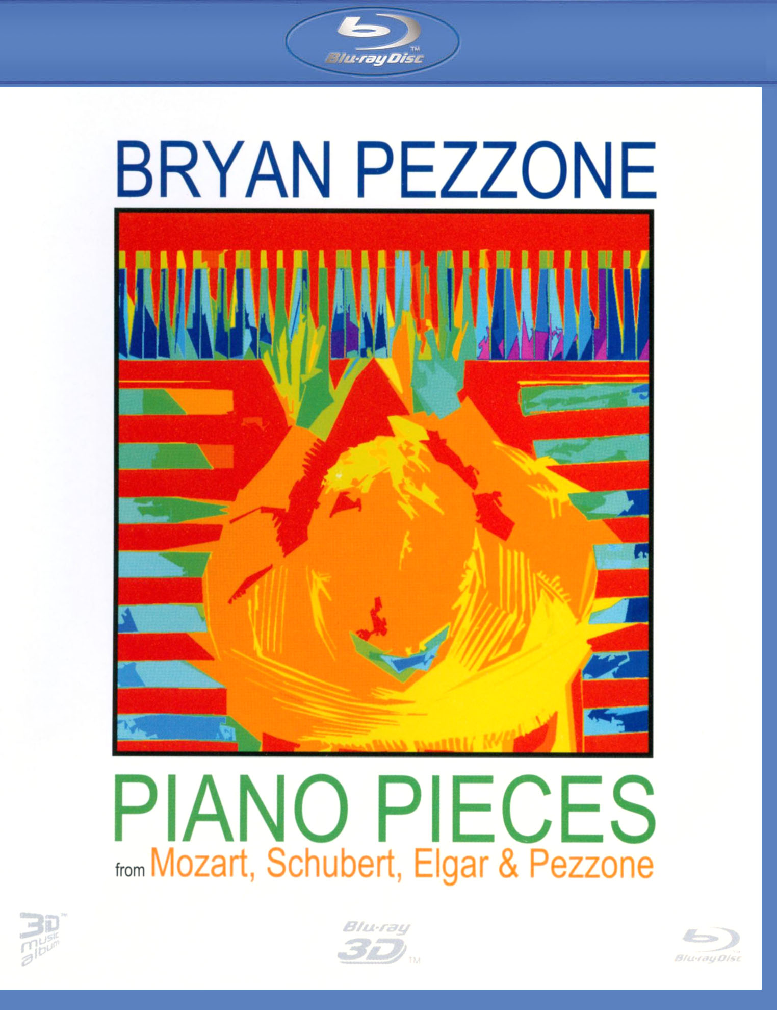 Brian Pezzone: Piano Pieces from Mozart, Schubert, Elgar & Pezzone