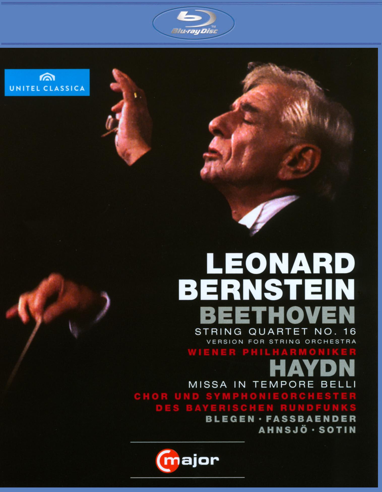 Leonard Bernstein: Beethoven - String Quartet No. 16/Haydn - Missa in Tempore Belli