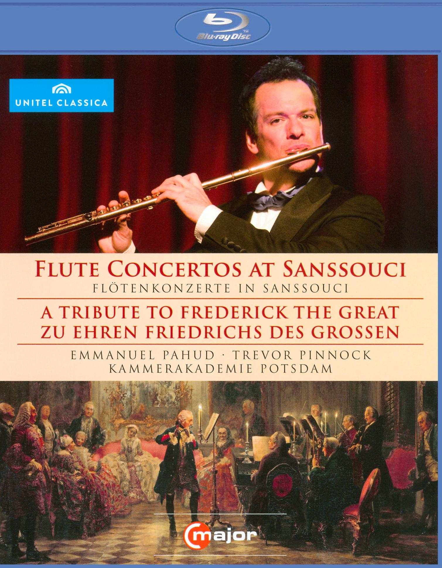 Emmanuel Pahud/Trevor Pinnock/Kammerakademie Potsdam: Flute Concertos at Sanssouci