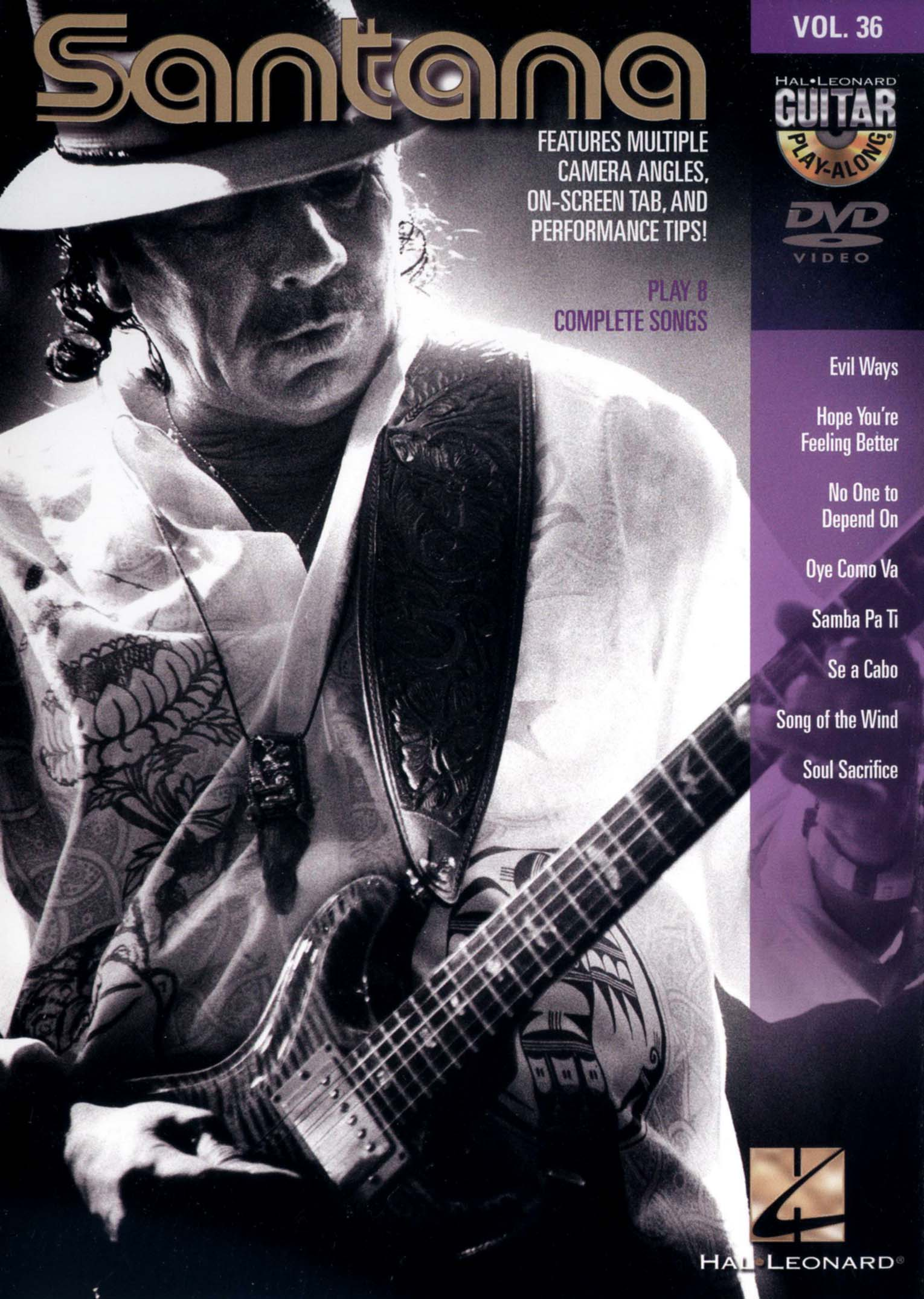 Guitar Play-Along, Vol. 36: Santana