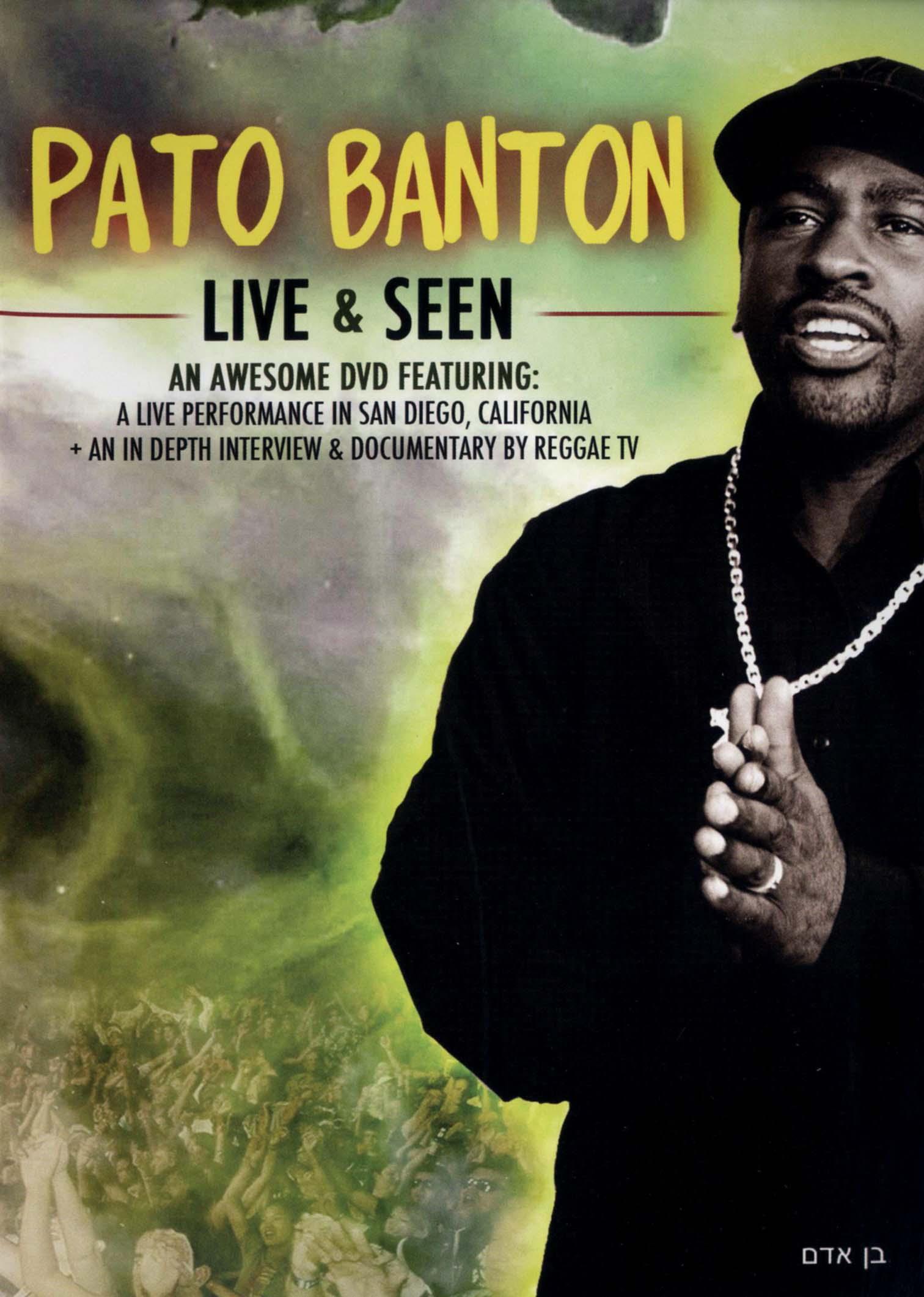 Pato Banton: Live and Seen