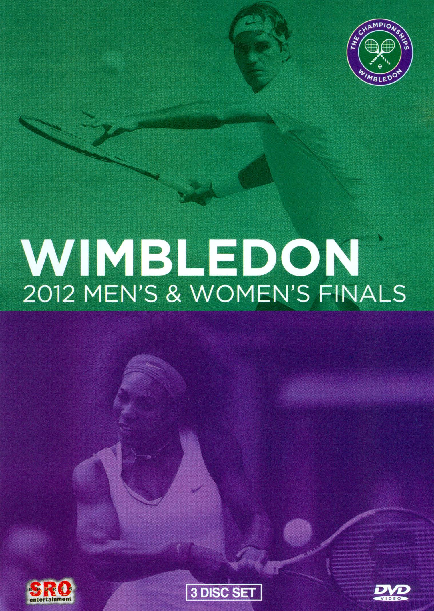 Wimbledon: 2012 Men's & Women's Finals