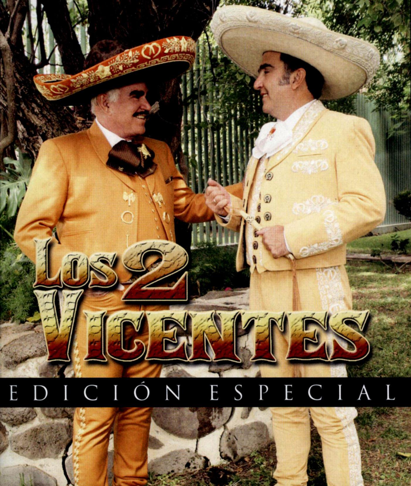 Vicente Fernandez y Vicente Fernandez Hijo: Los 2 Vicentes
