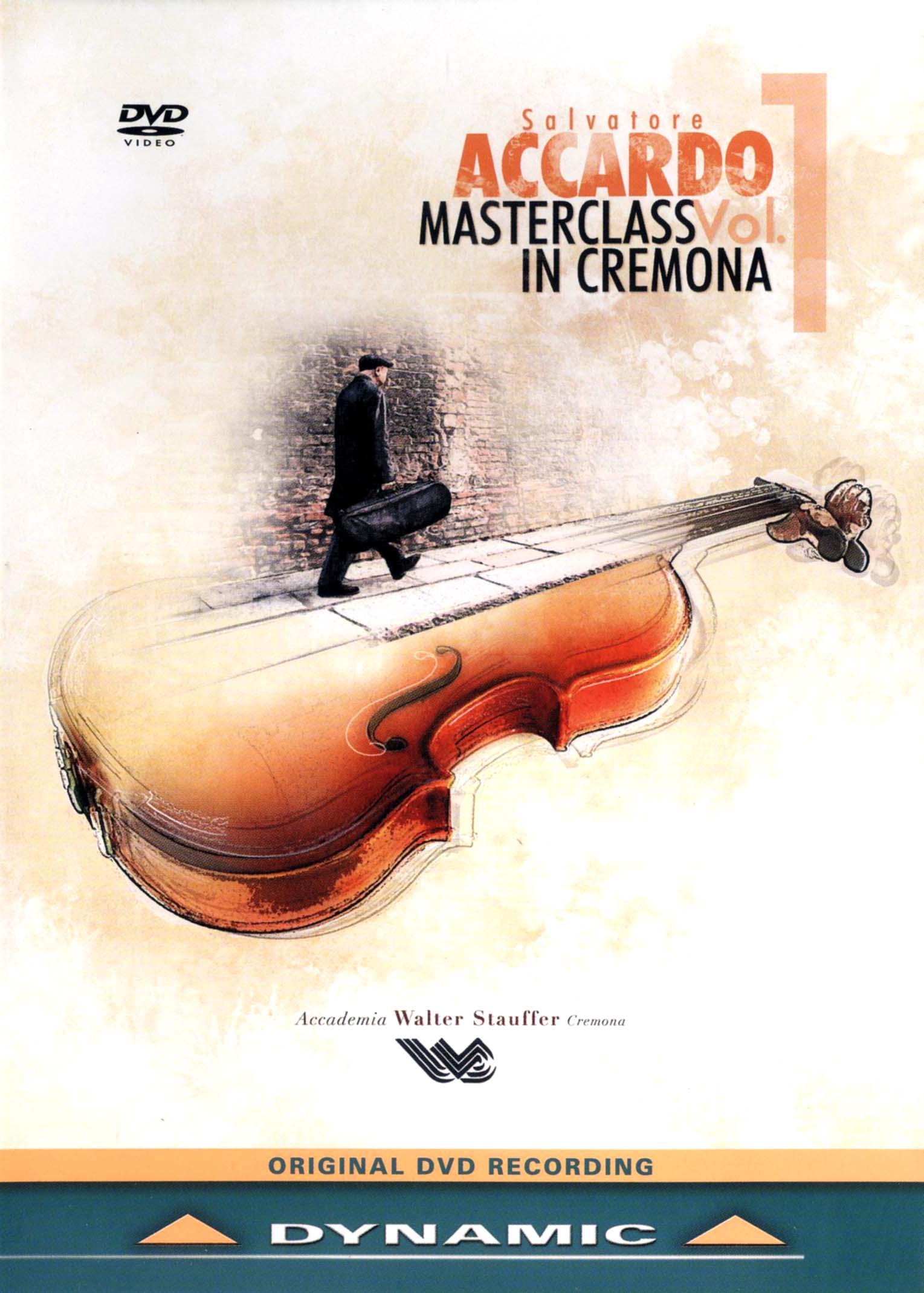 Salvatore Accardo: Masterclass in Cremona, Vol. 1