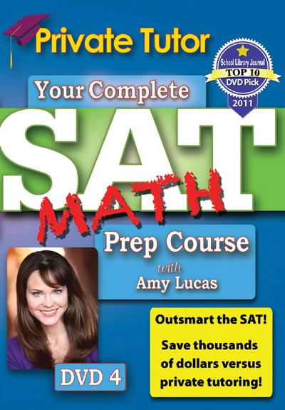 Private Tutor: Math DVD 4 - SAT Prep Course