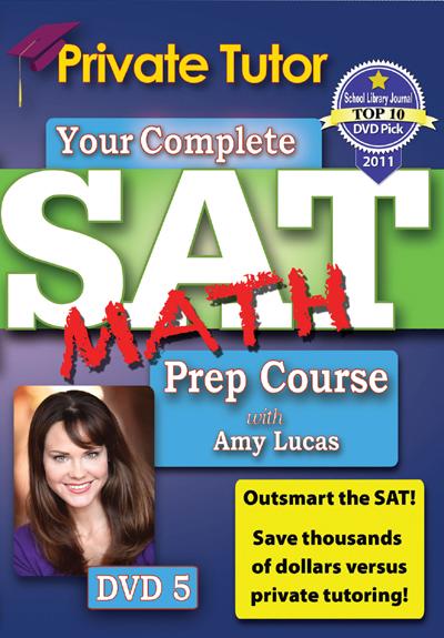 Private Tutor: Math DVD 5 - SAT Prep Course