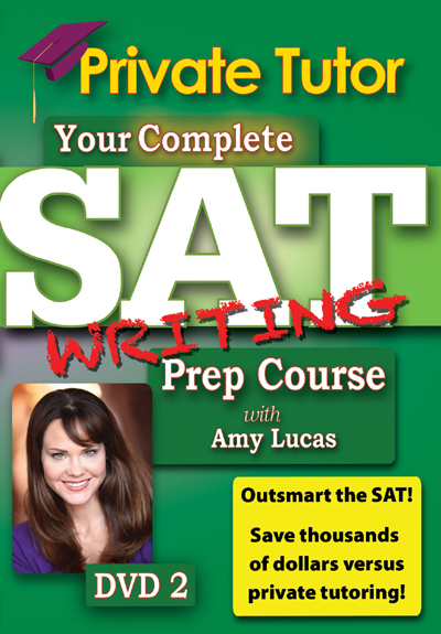 Private Tutor: Writing DVD 2 - SAT Prep Course