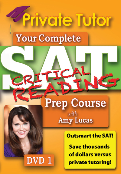 Private Tutor: Critical Reading DVD 1 - SAT Prep Course
