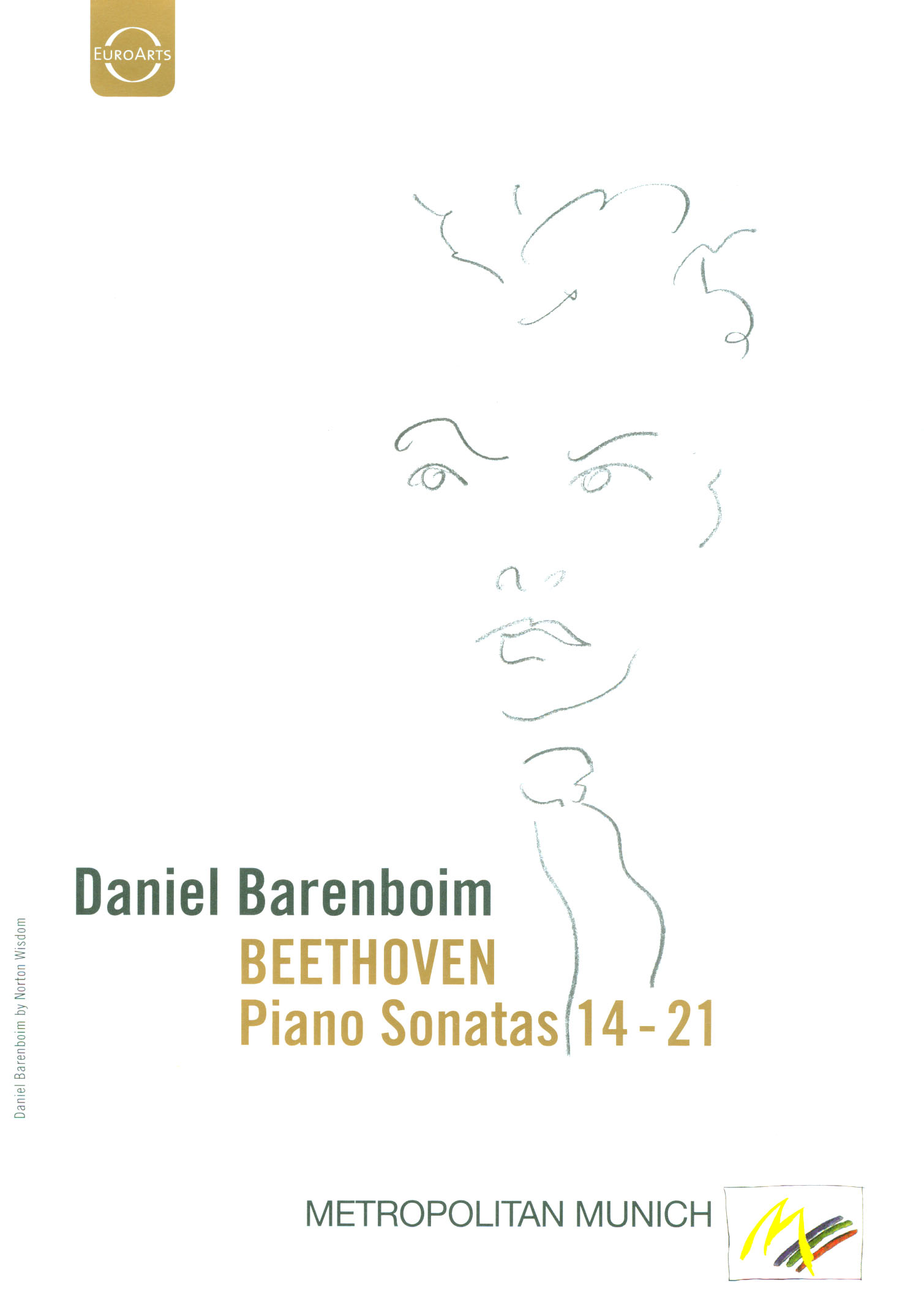 Daniel Barenboim: Beethoven - Piano Sonatas 14-21