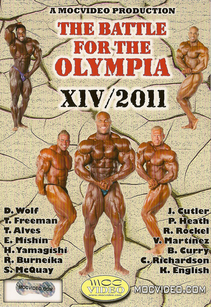 The Battle for the Olympia, Vol. XIV - 2011