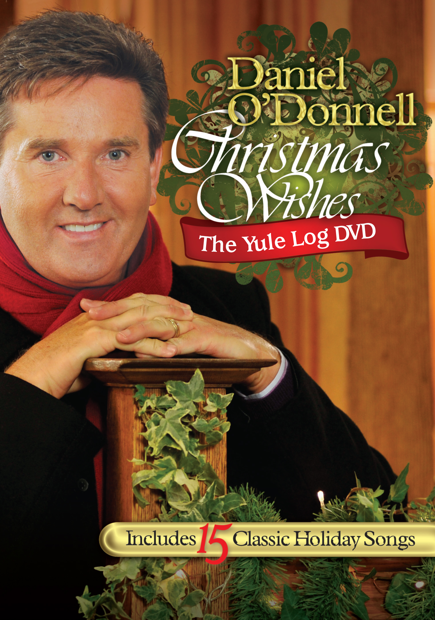 Daniel O'Donnell: Christmas Wishes - The Yule Log DVD