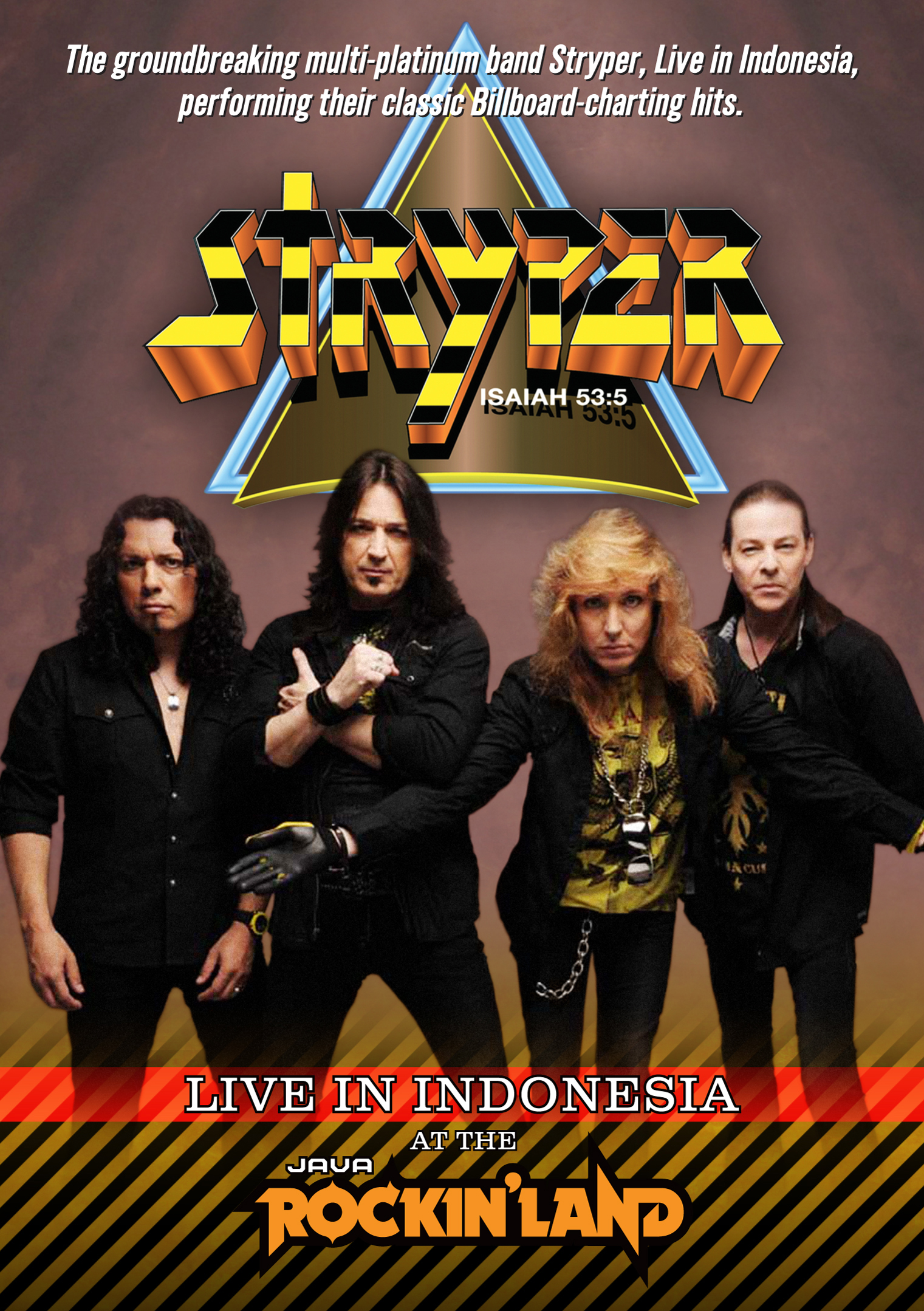 Stryper: Live in Indonesia at the Java Rockin' Land