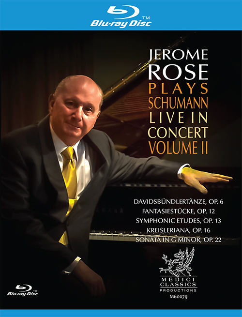 Jerome Rose Plays Schumann: Live in Concert, Vol. 2
