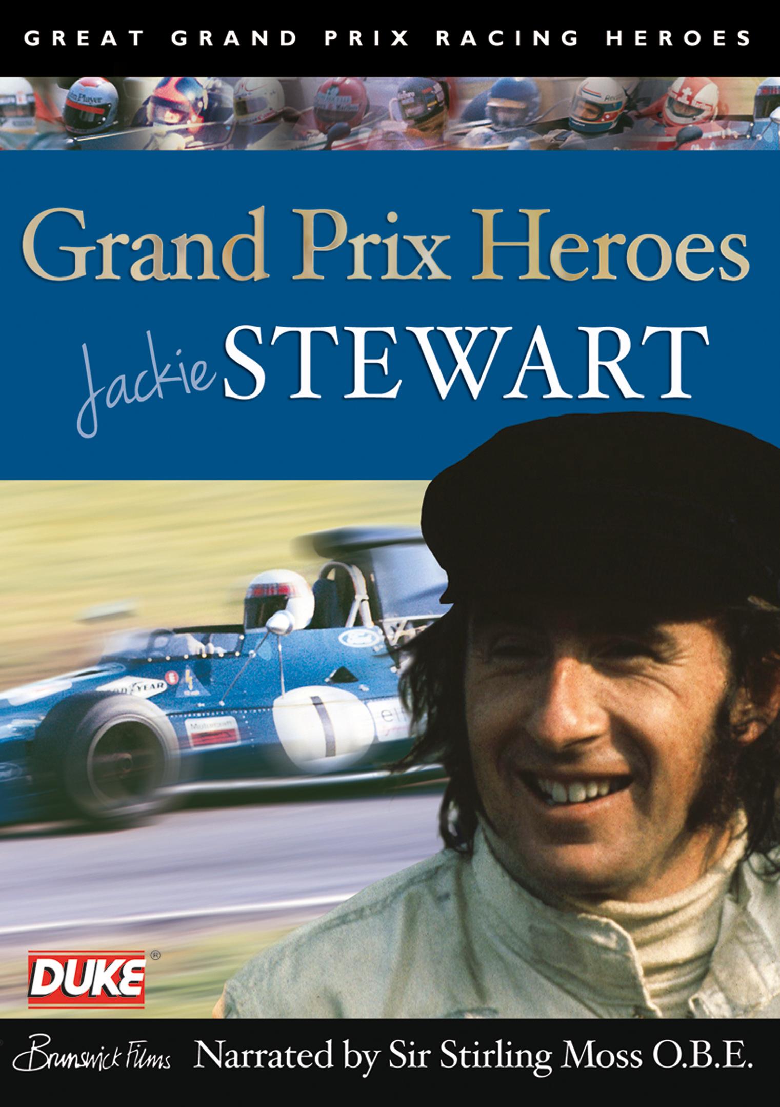 Grand Prix Heroes: Jackie Stewart