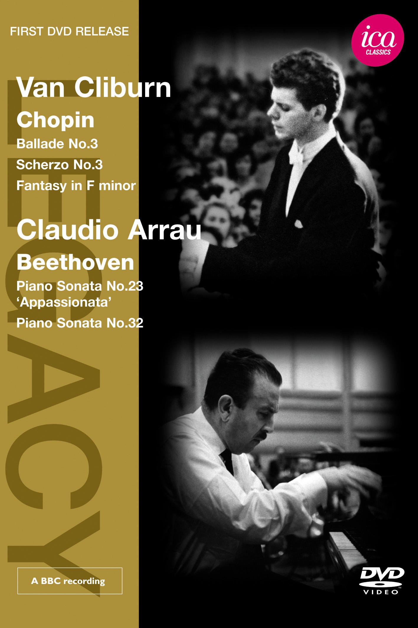 Van Cliburn: Chopin/Claudio Arrau: Beethoven
