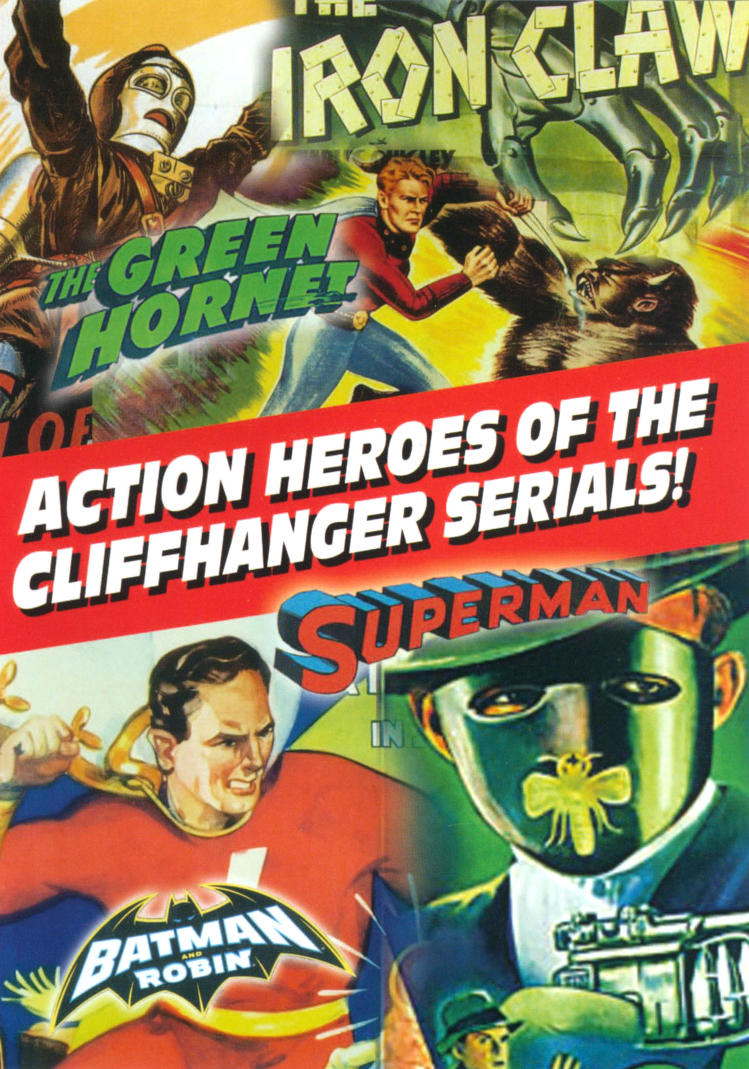 Action Heroes of the Cliffhanger Serials