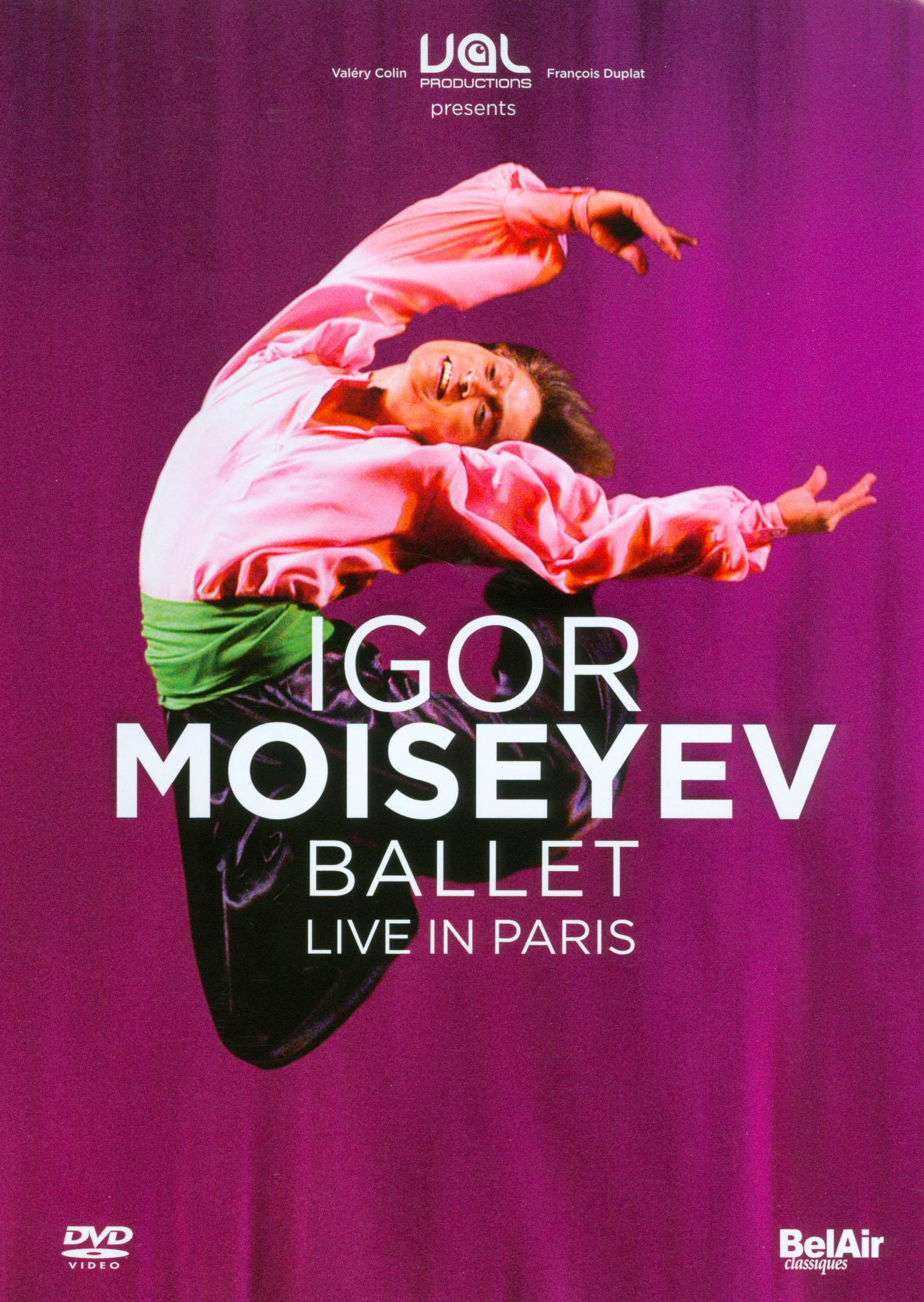 Igor Moiseyev Ballet: Live in Paris